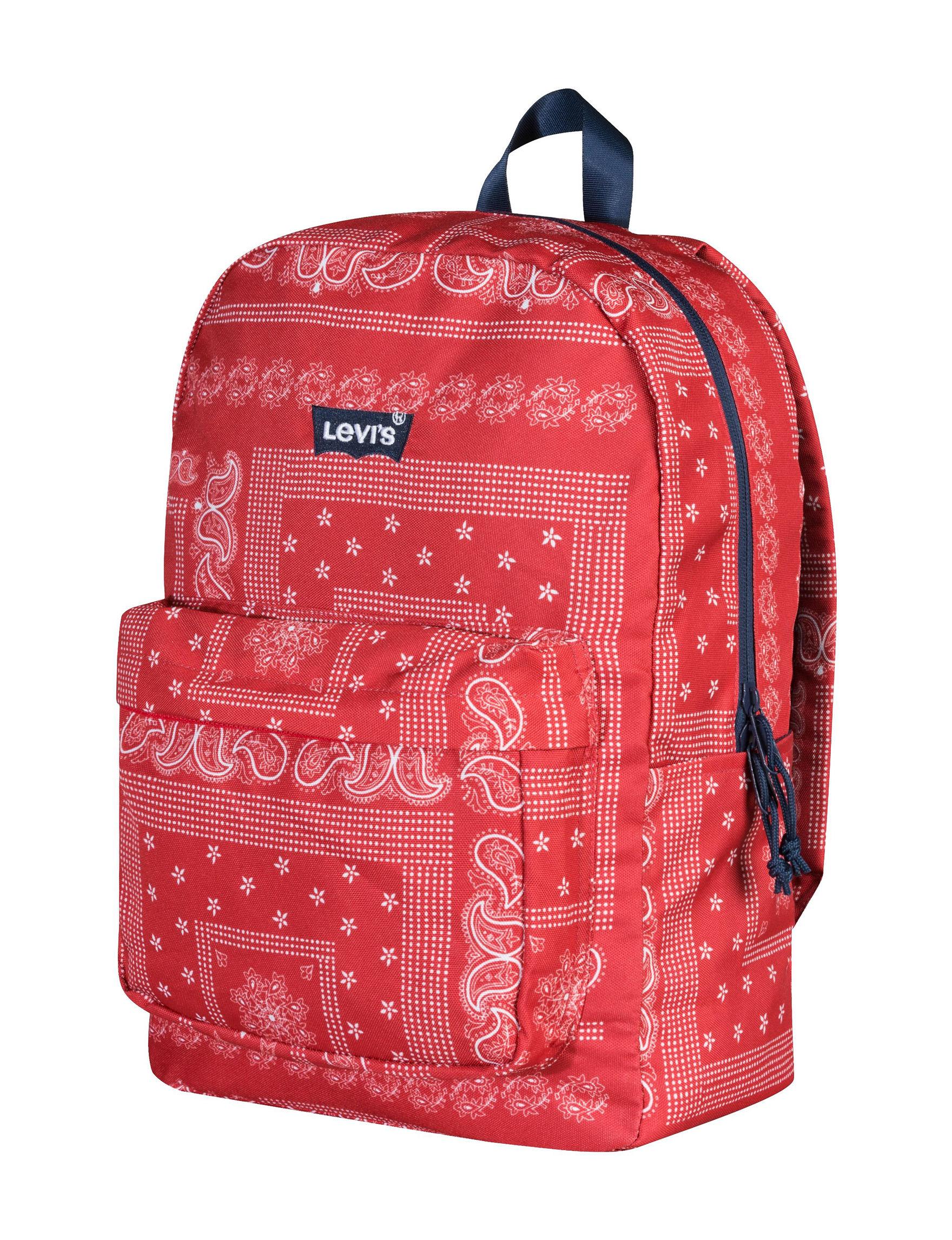 Levi's Red Bookbags & Backpacks