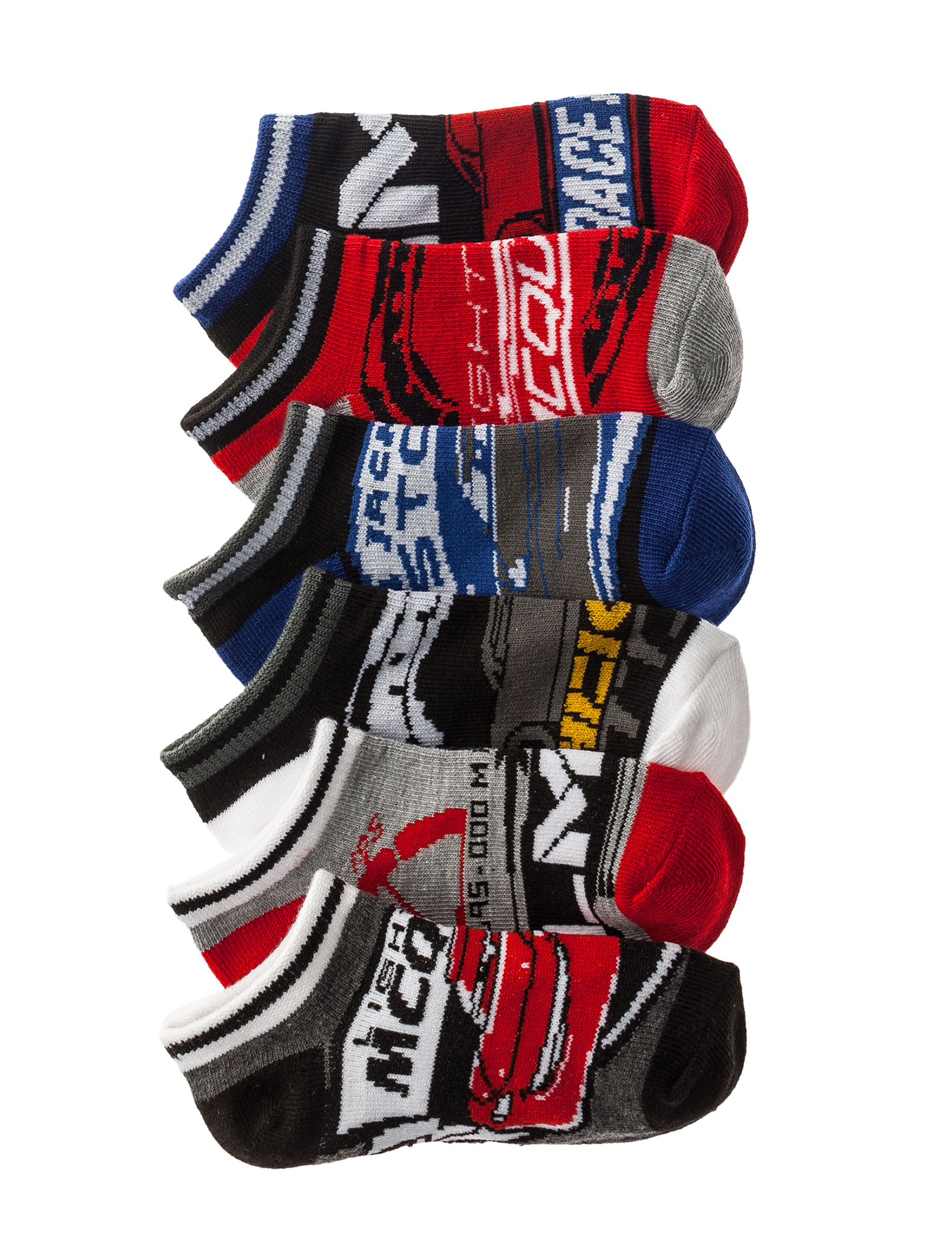 Licensed Charcoal Socks