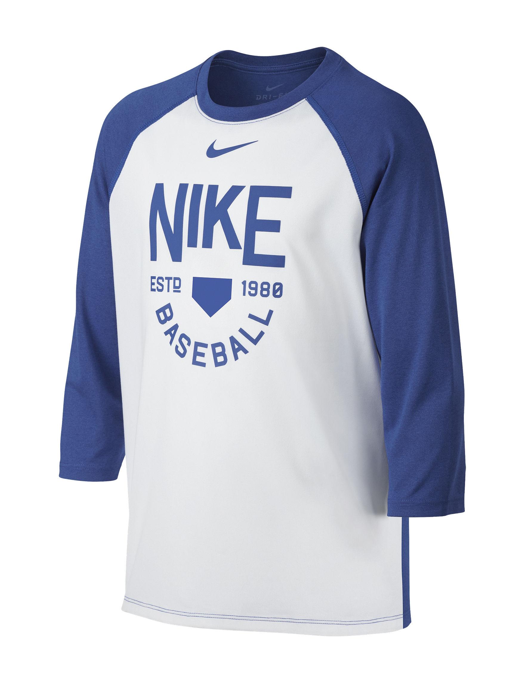 Nike White / Blue