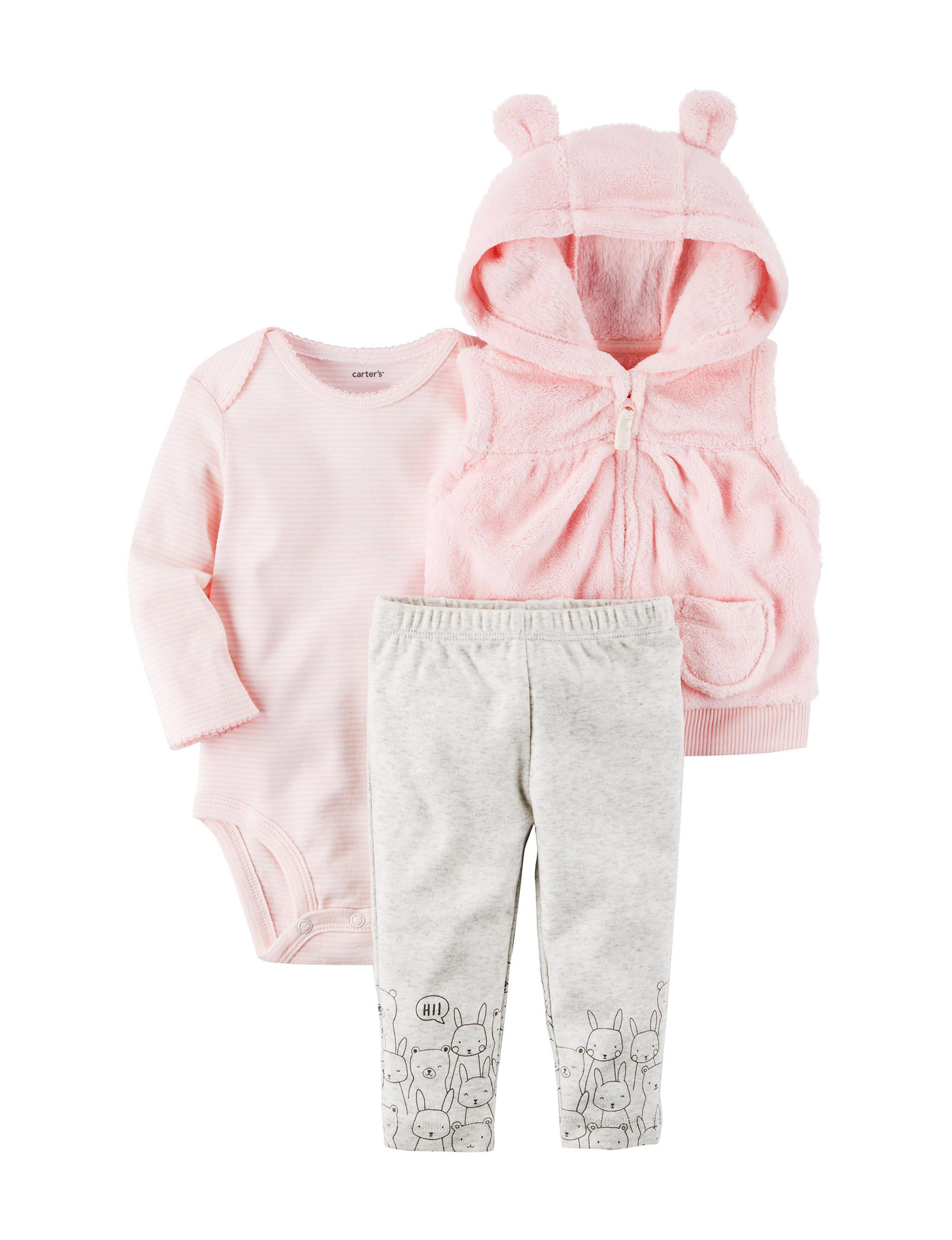 140666bf8 Carter's 3-pc. Hooded Vest & Leggings Set - Baby 3-18 Mos. | Stage ...
