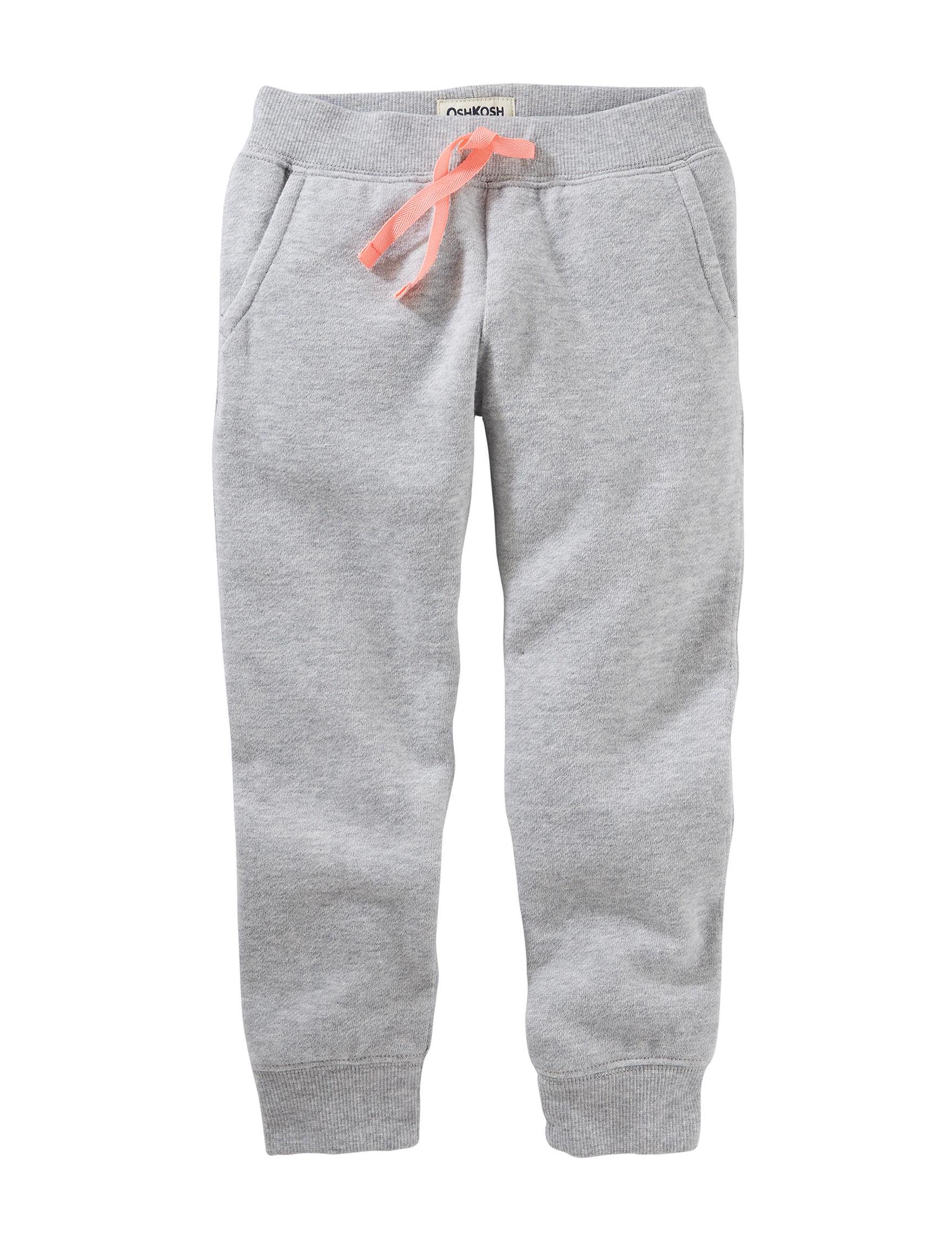 Oshkosh B'Gosh Heather Grey Soft Pants