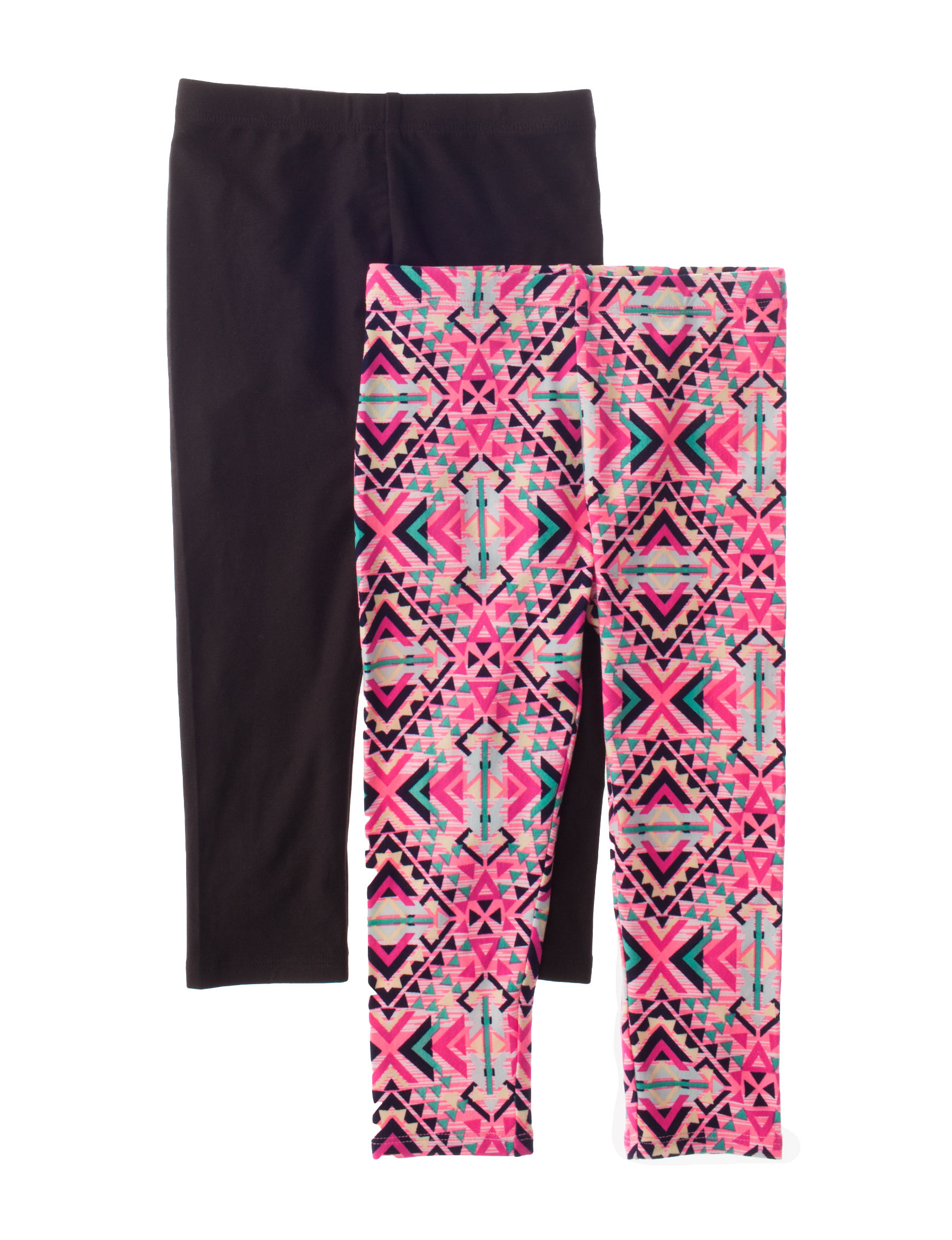 One Step Up Pink Leggings Stretch