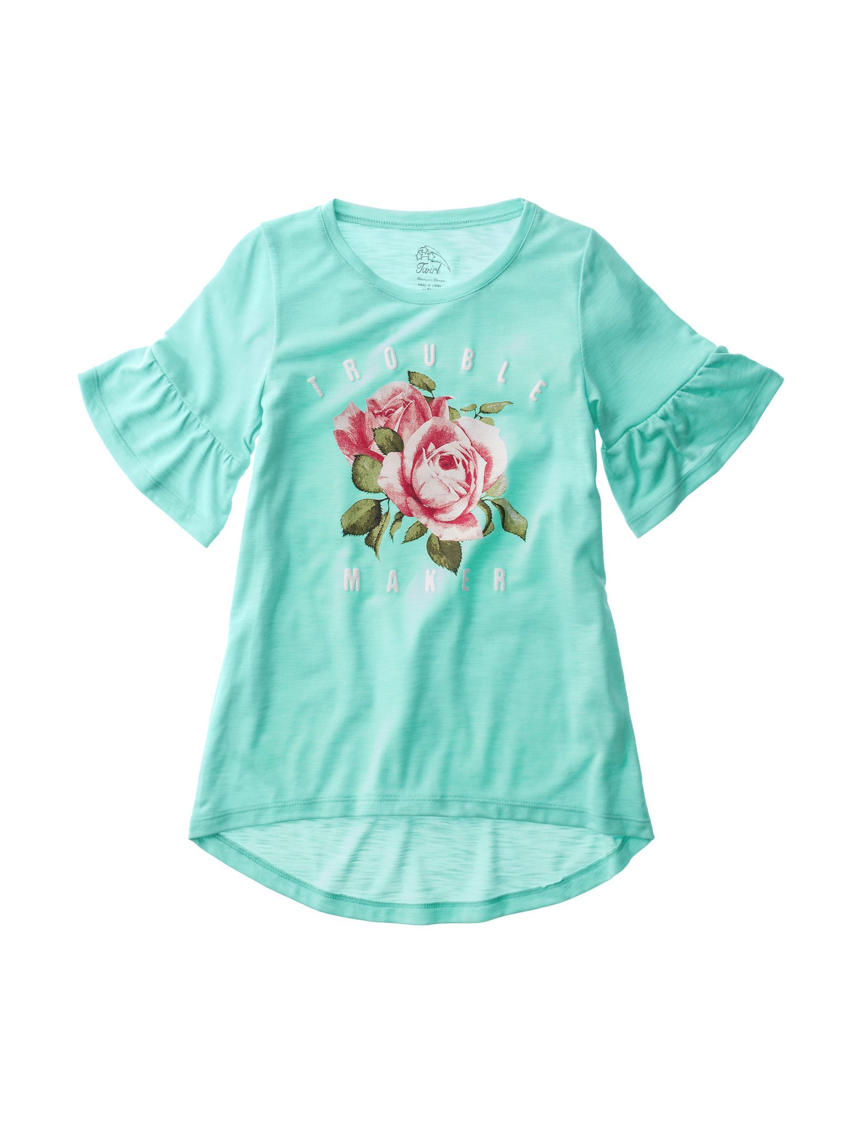 Twirl Mint Tees & Tanks
