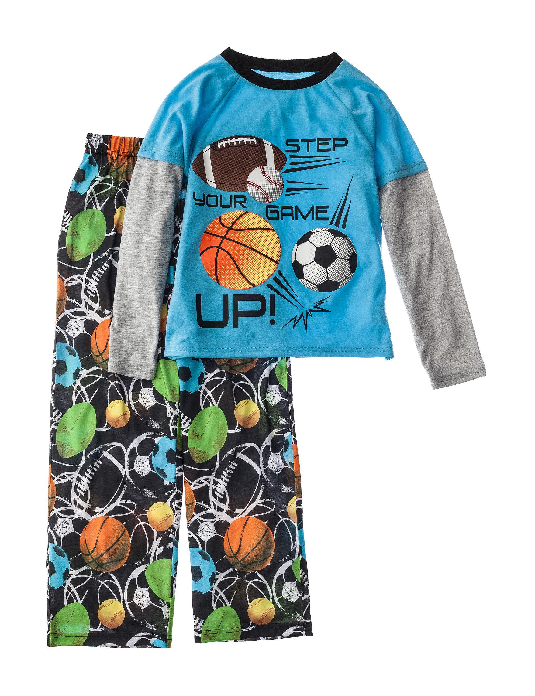 Komar Black Pajama Sets