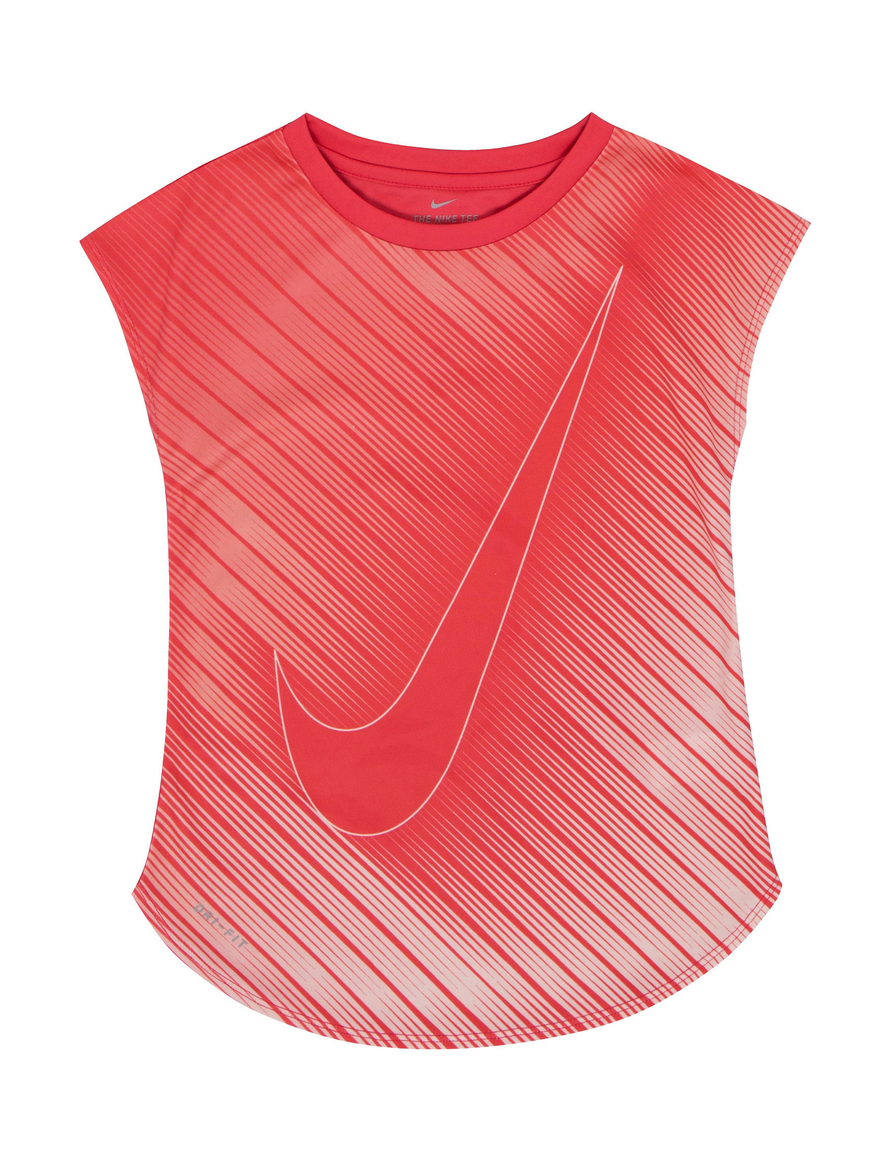 Nike Red Tees & Tanks