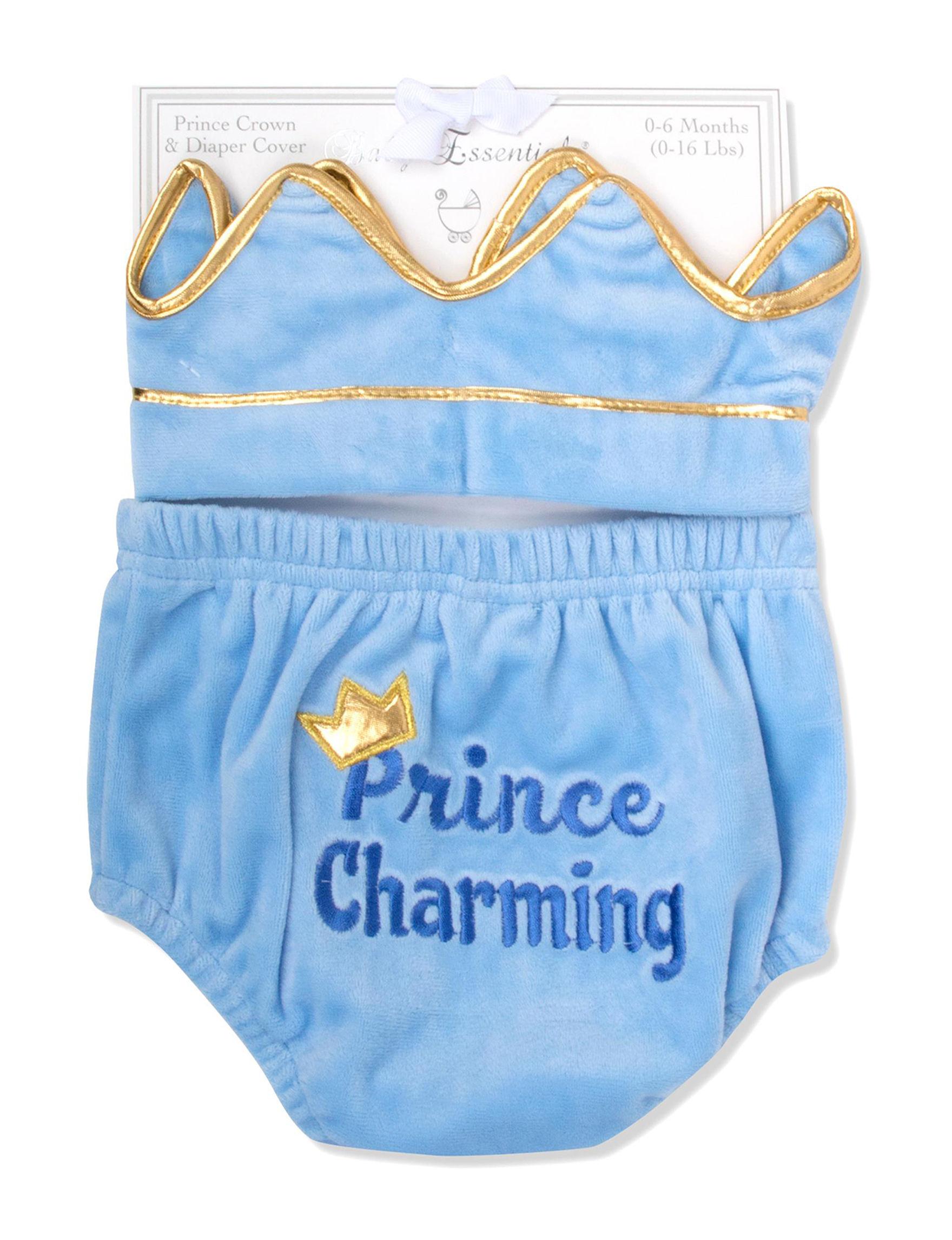Baby Essentials Blue Diaper Bags