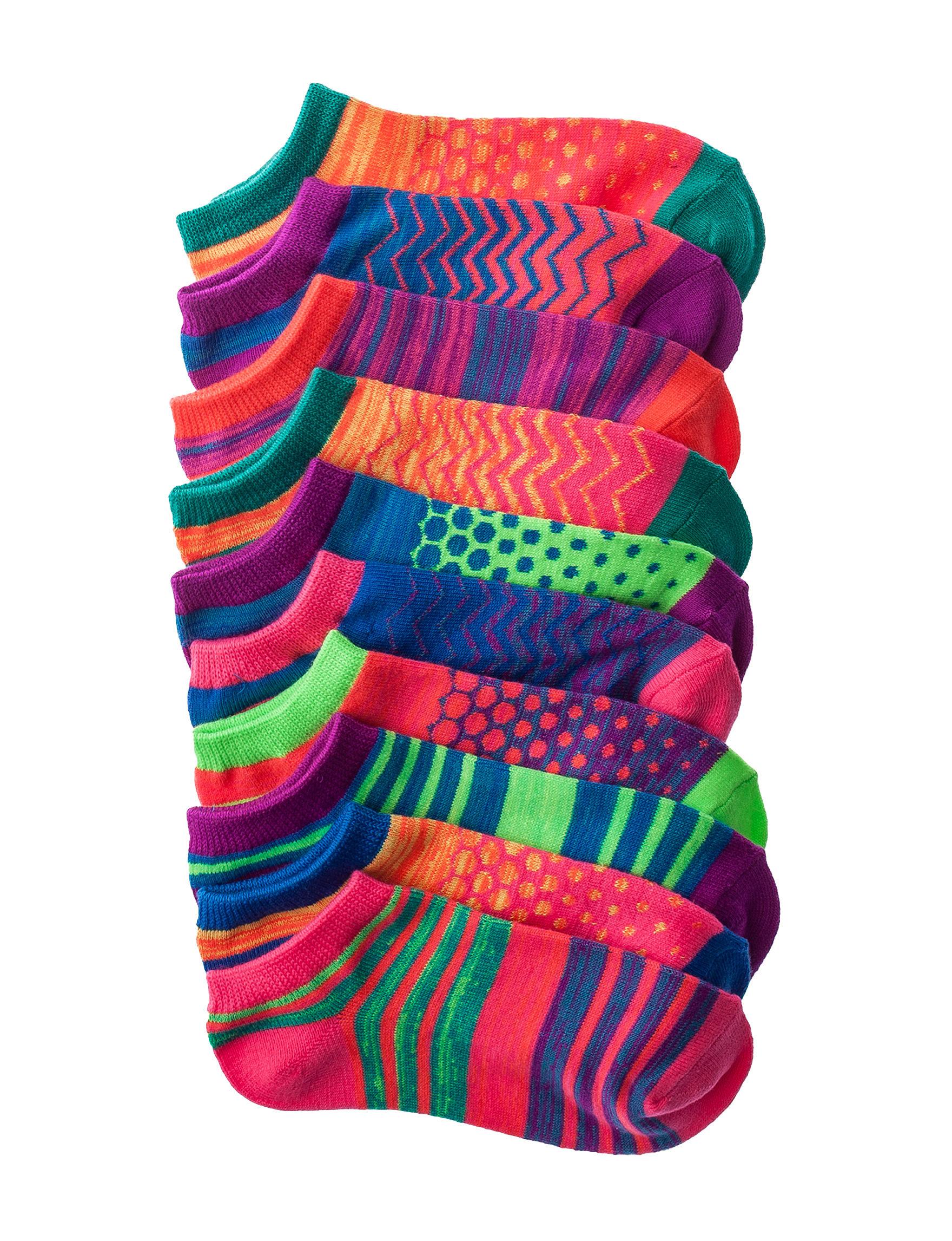 La De Da Black Socks