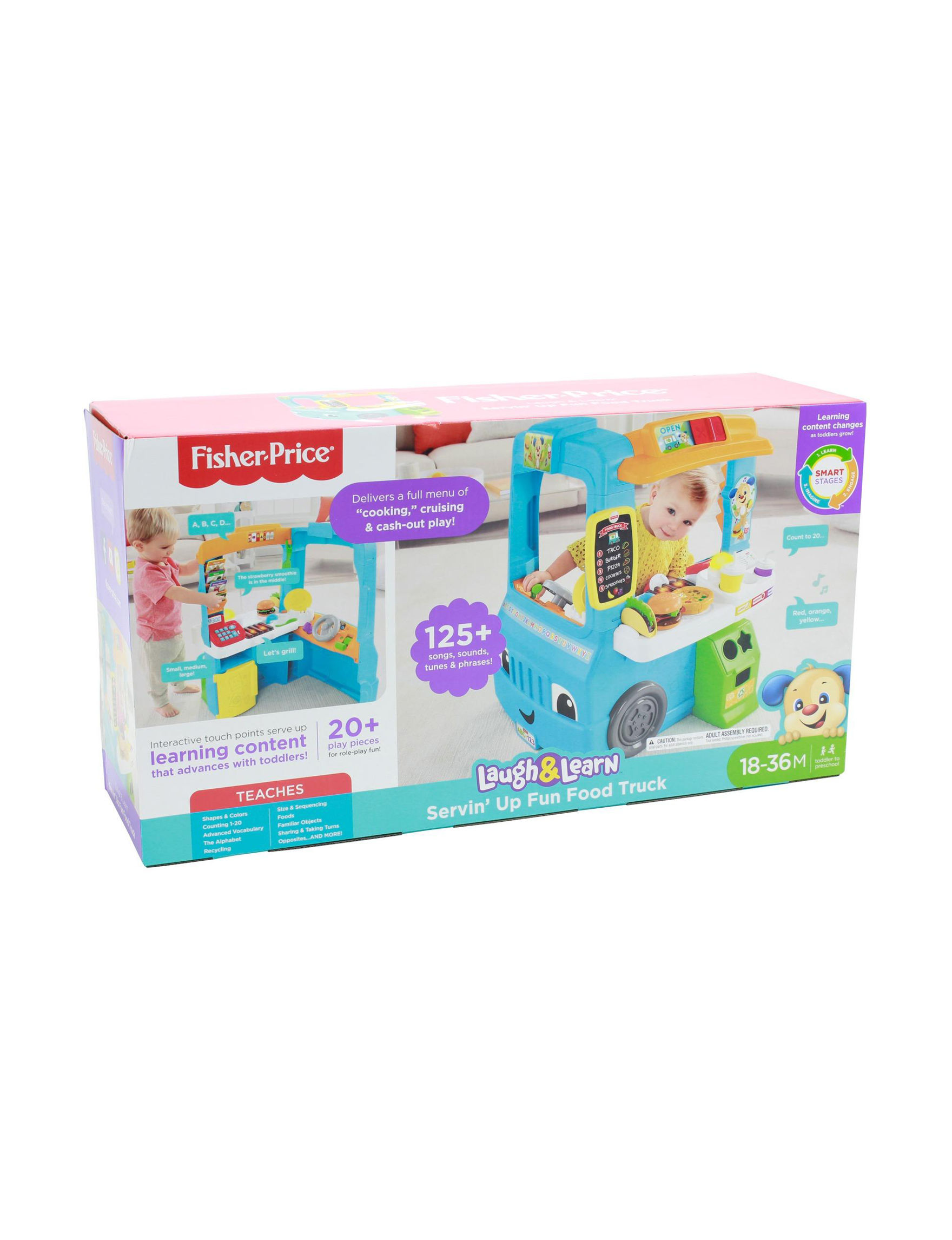 Fisher-Price Laugh & Learn Servin\' Up Fun Food Truck   Stage Stores