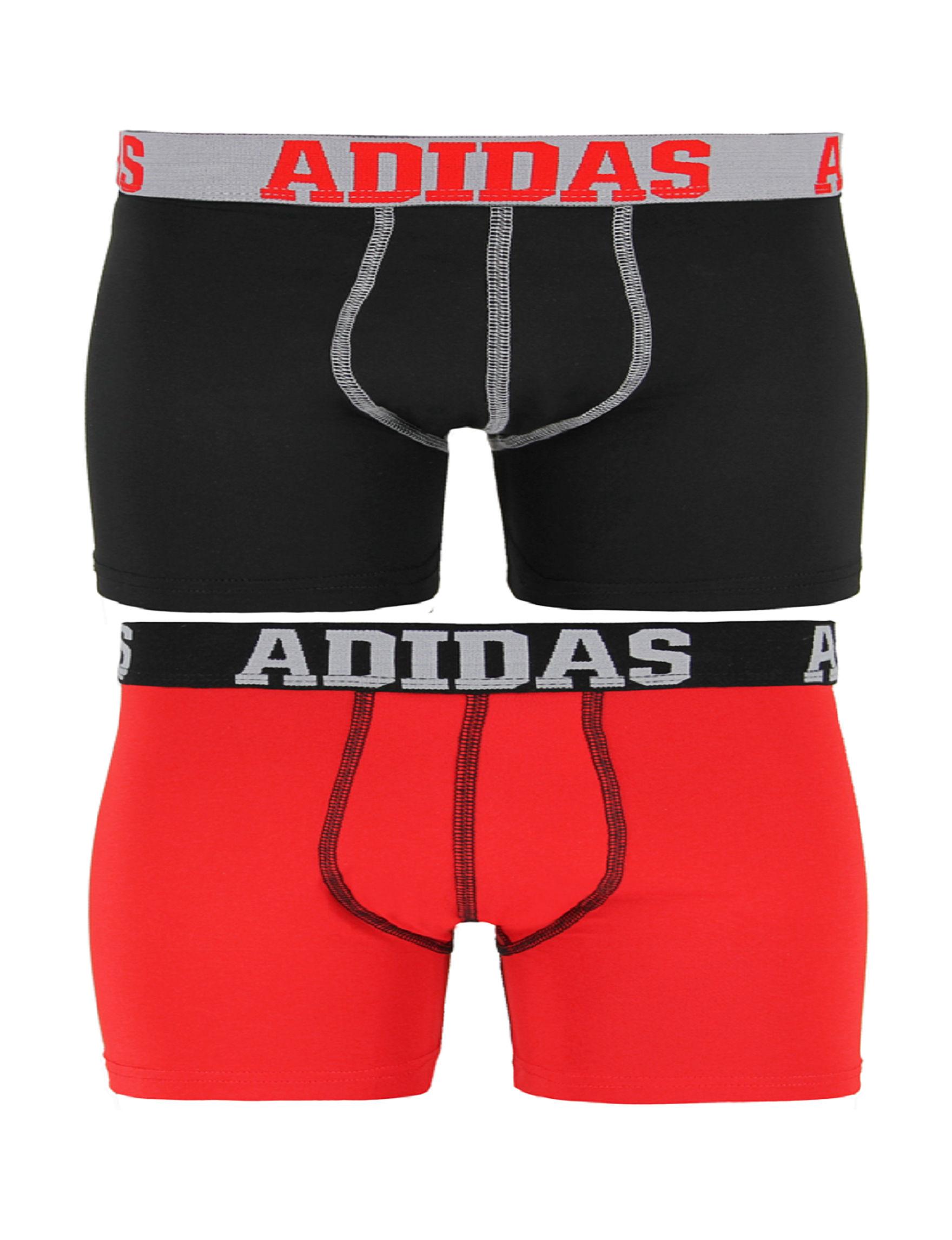 Adidas Black Boxer Briefs