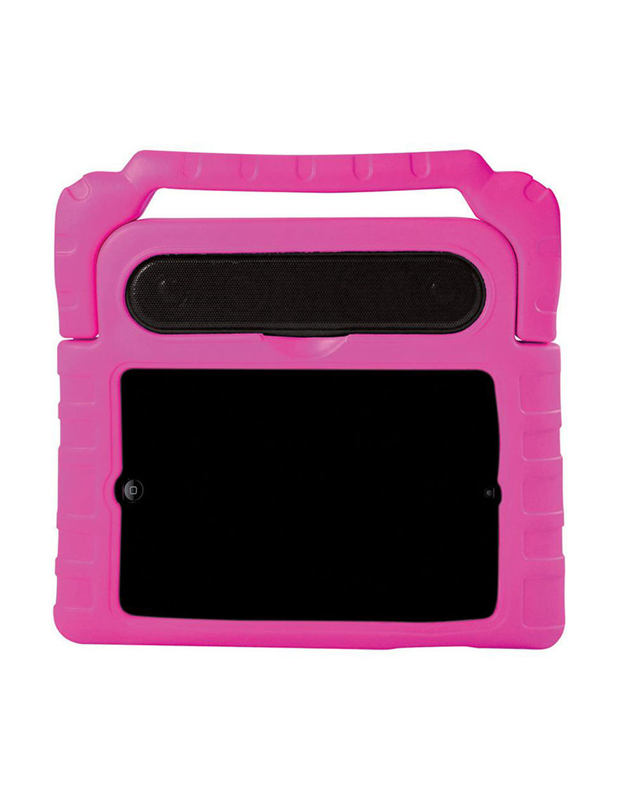 Emio Pink Cases & Covers Speakers & Docks Home & Portable Audio Tech Accessories