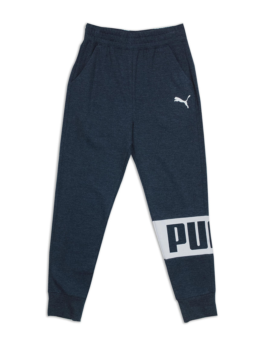 Puma Navy Heather Soft Pants
