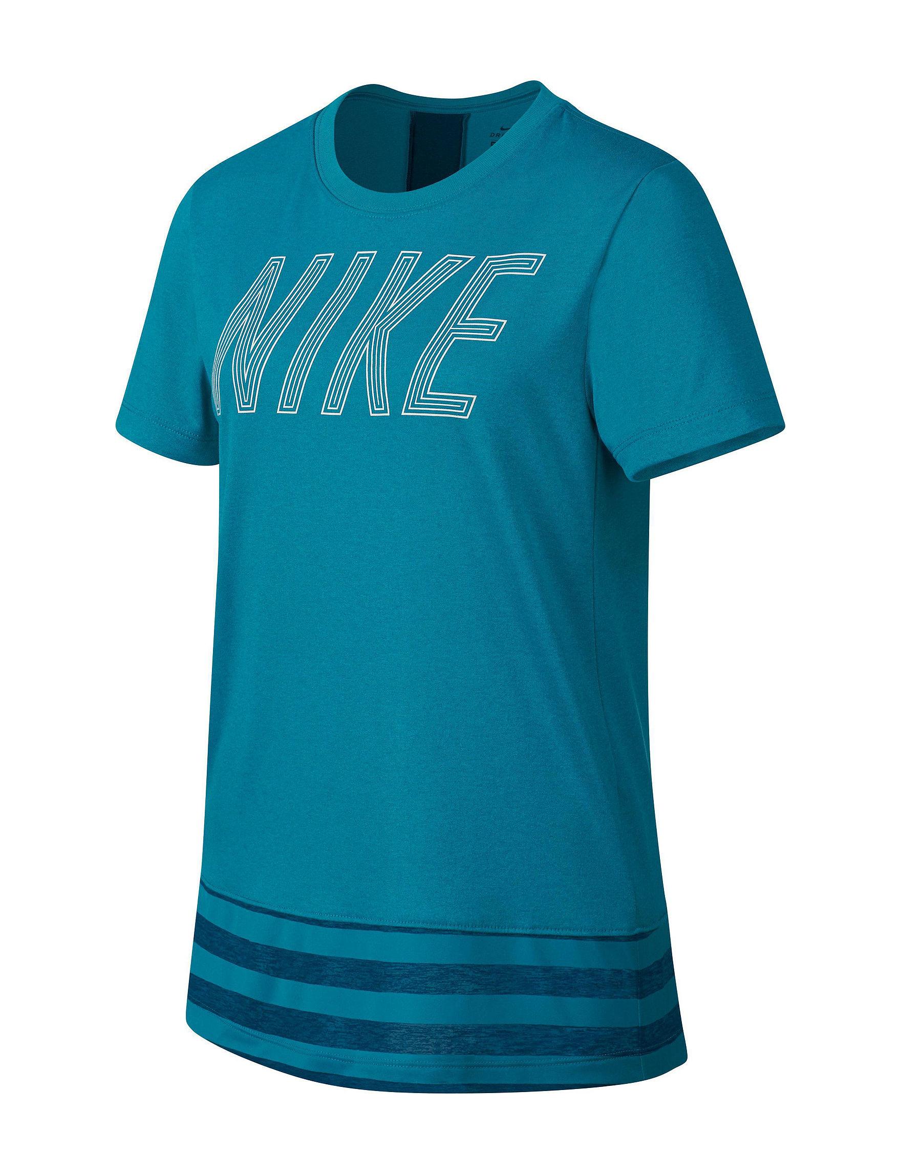 Nike Neon Blue Tees & Tanks
