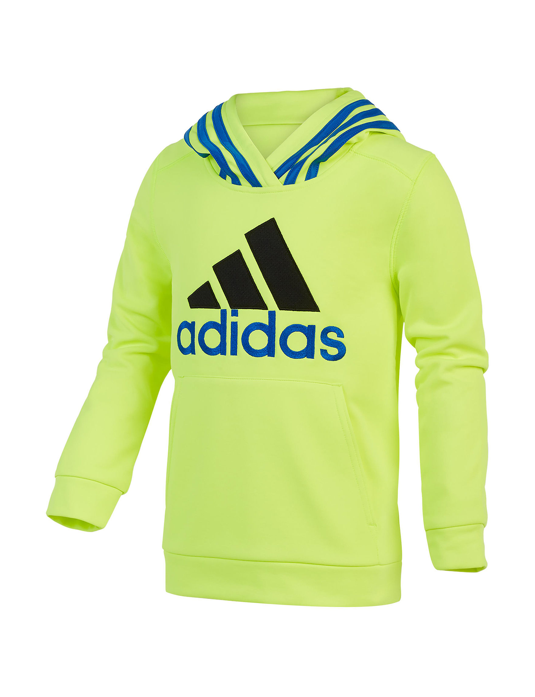 Adidas Yellow Pull-overs
