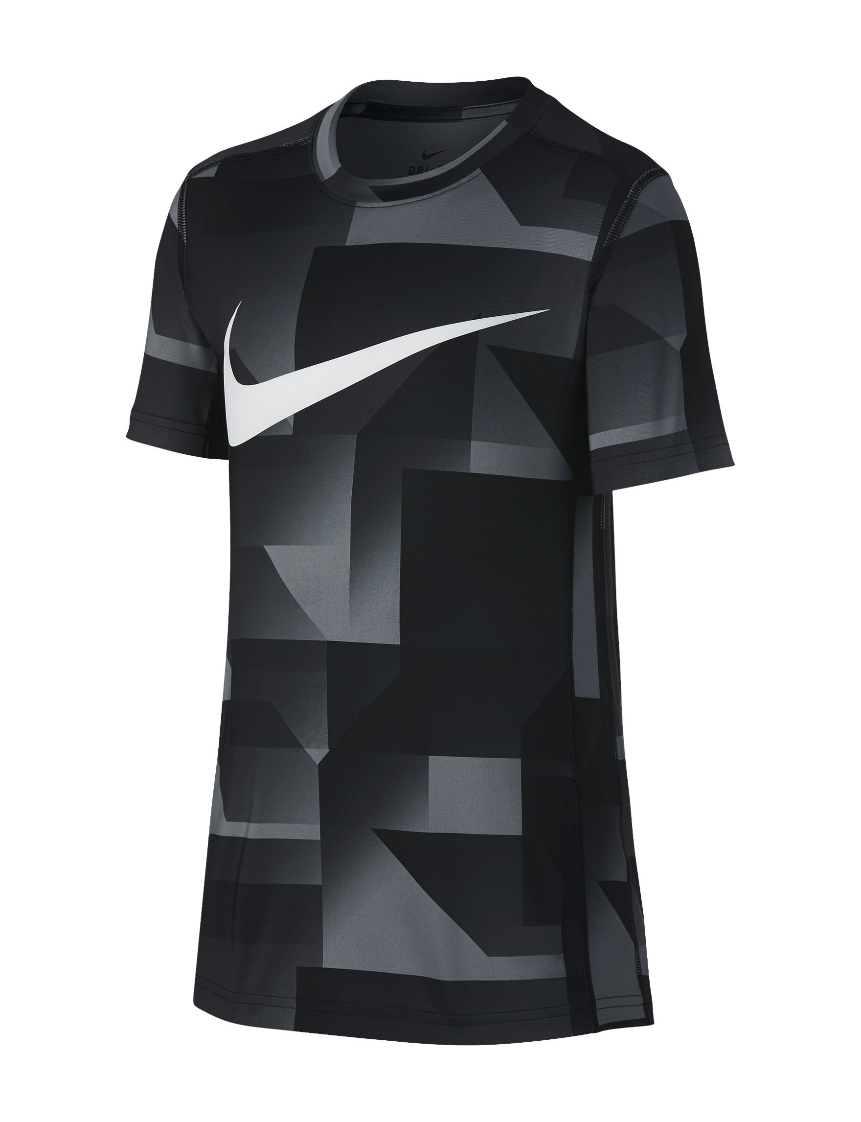 Nike Black / White Tees & Tanks