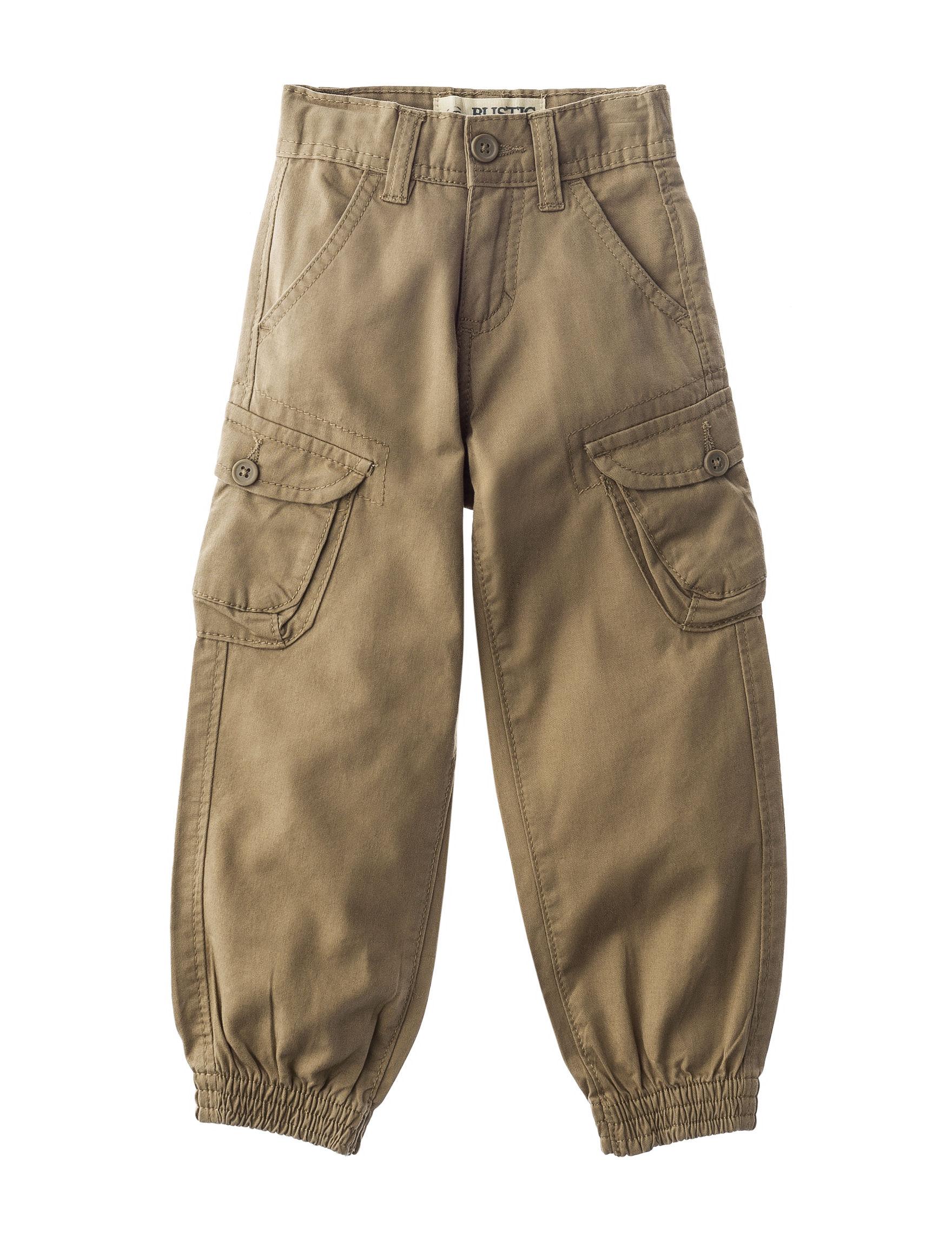 Rustic Blue Camel Soft Pants