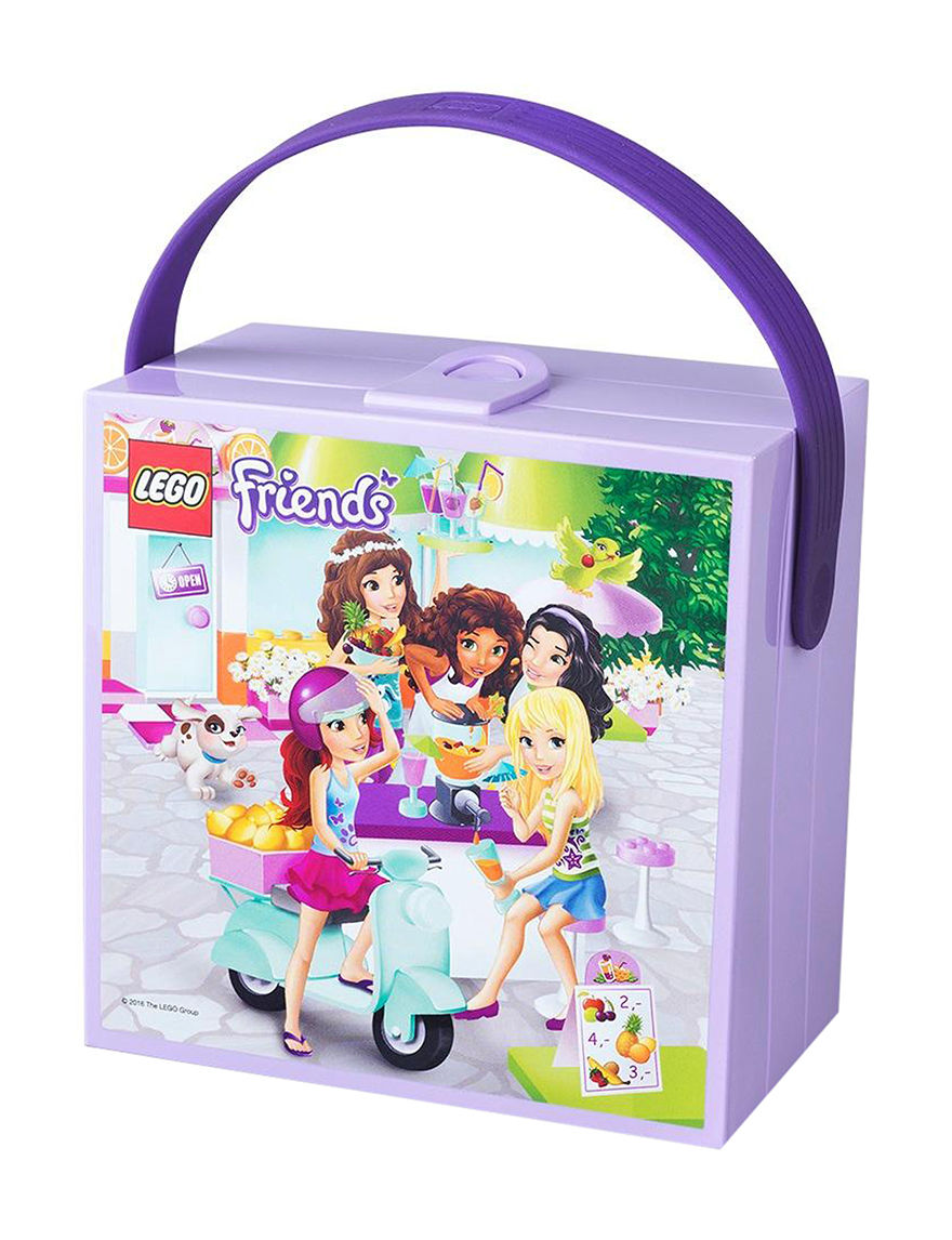 Lego Friends Lunchbox with Handle - Lavender - Lego