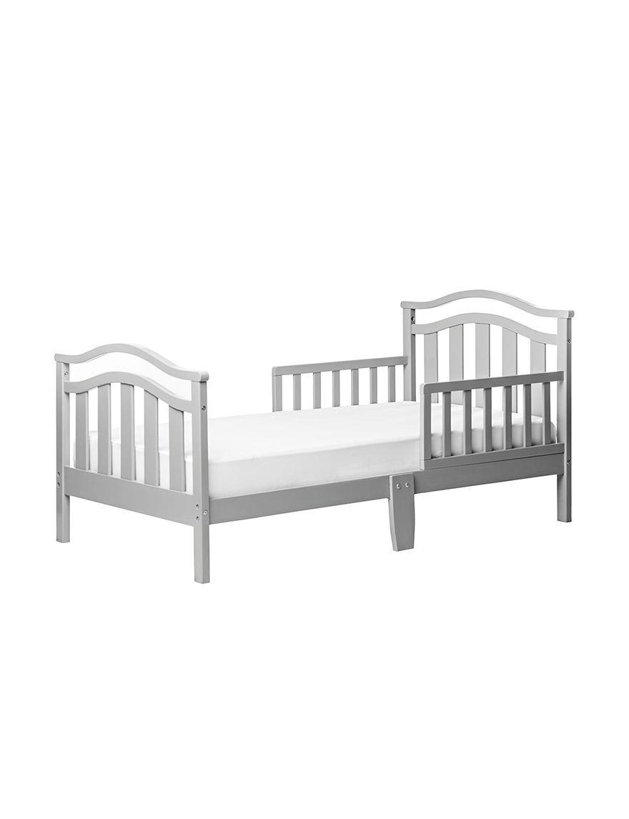 Dream On Me Grey Beds & Headboards Bedroom Furniture