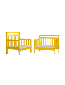 Dream On Me Yellow Beds & Headboards Bedroom Furniture