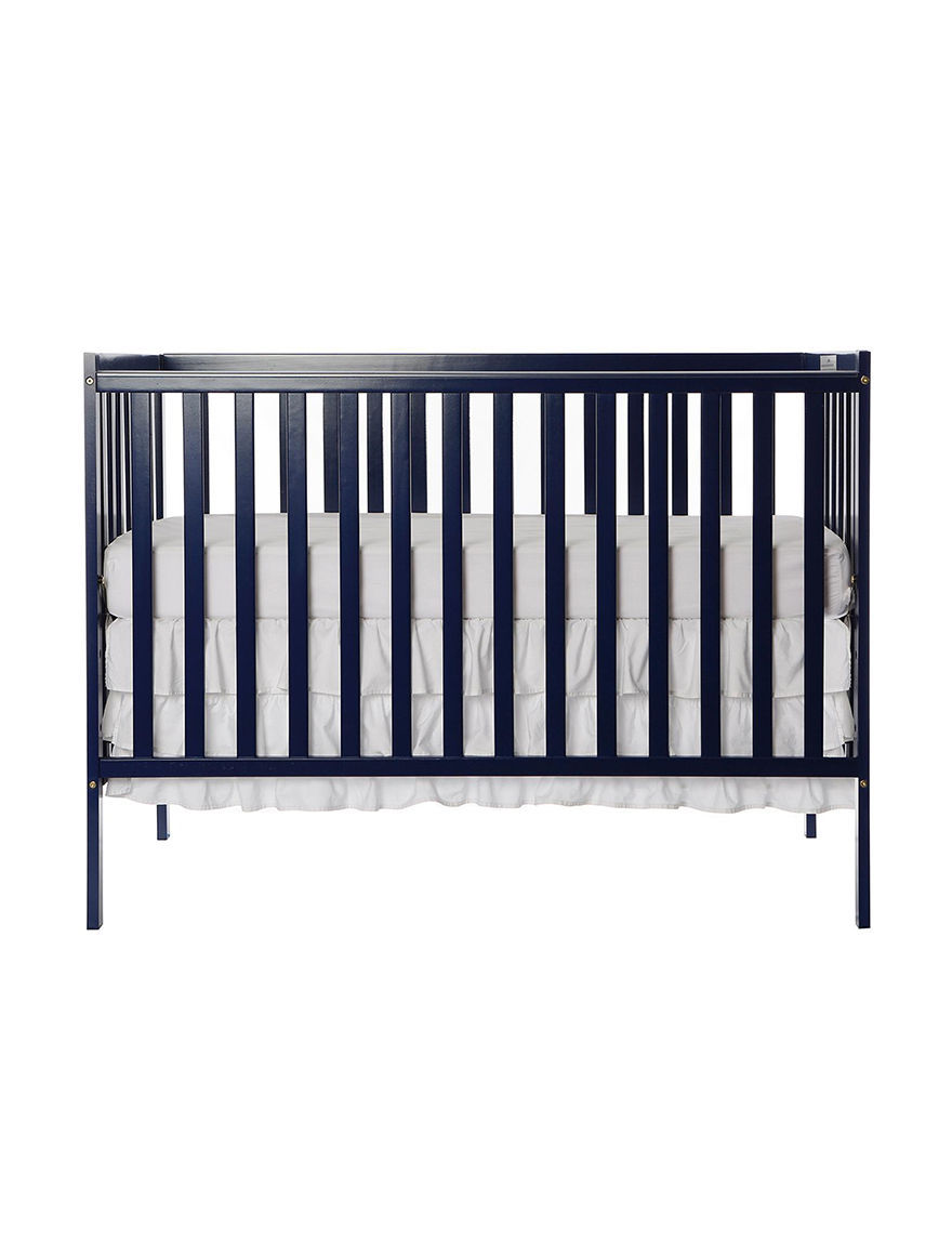 Dream On Me Dark Blue Cribs Bedroom Furniture