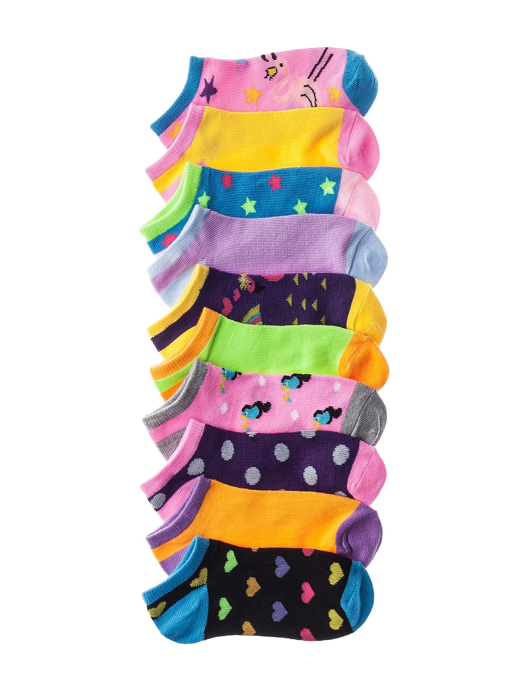 Sweet Cakes Blue Socks