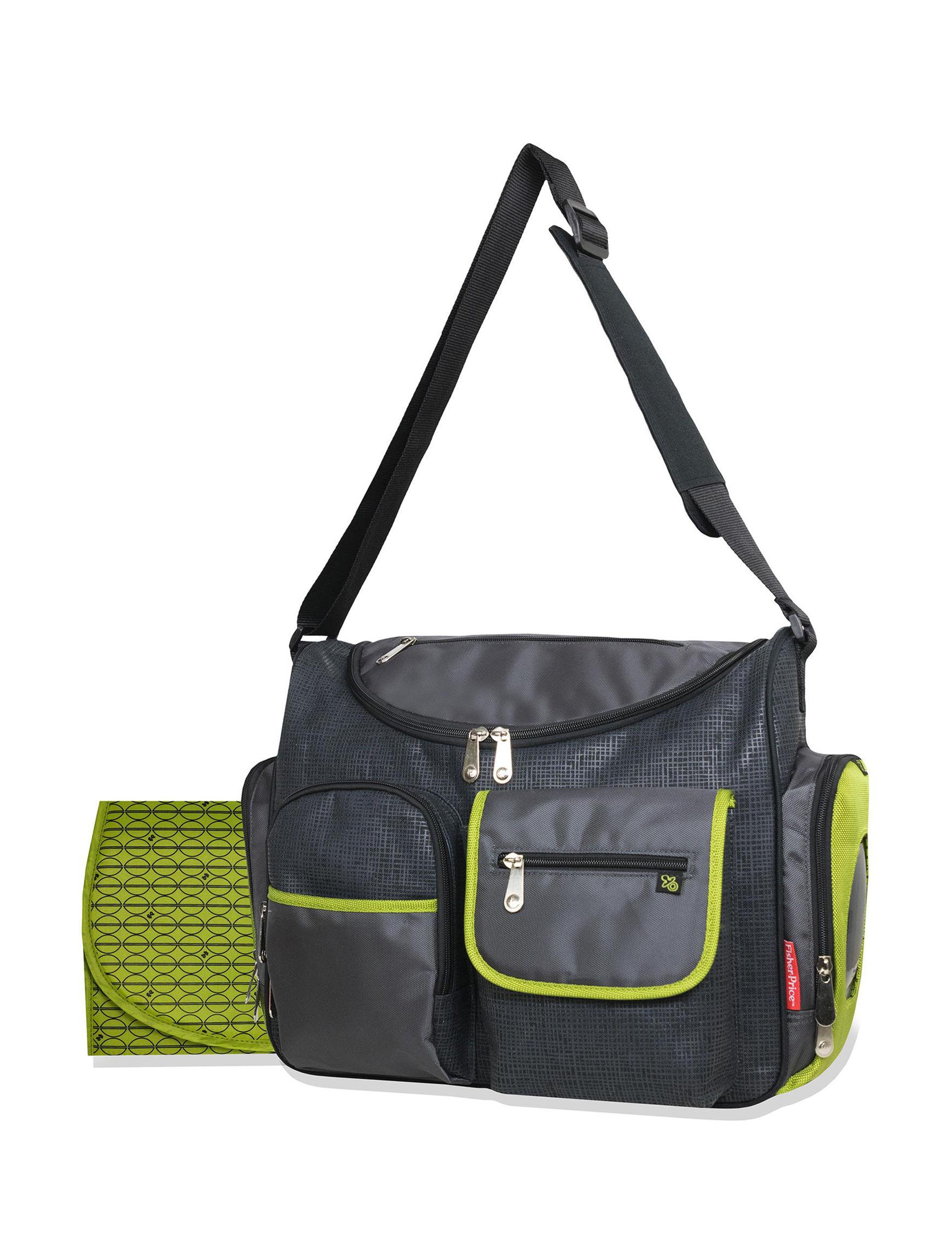 Fisher-Price Grey Diaper Bags
