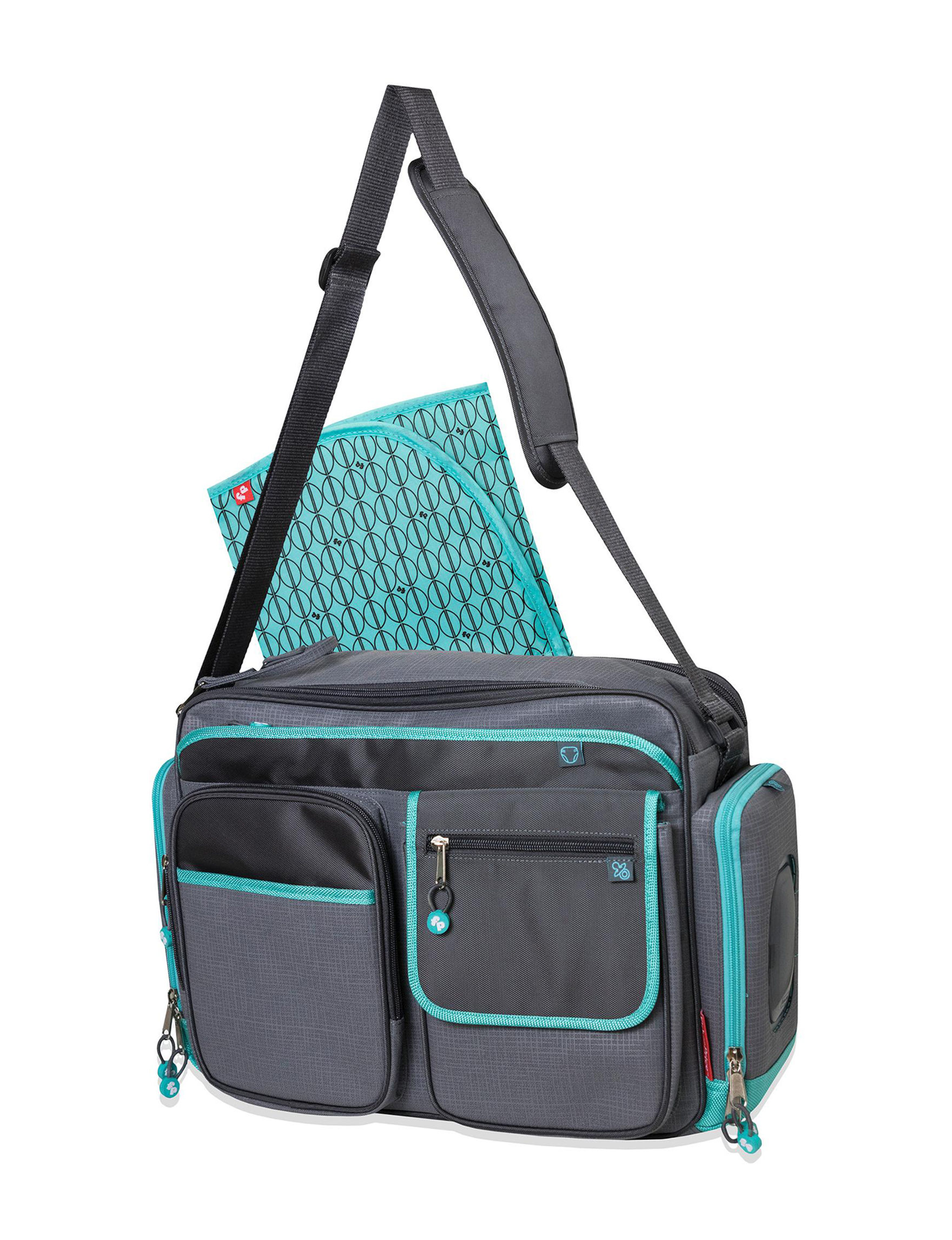 Fisher-Price Teal Diaper Bags