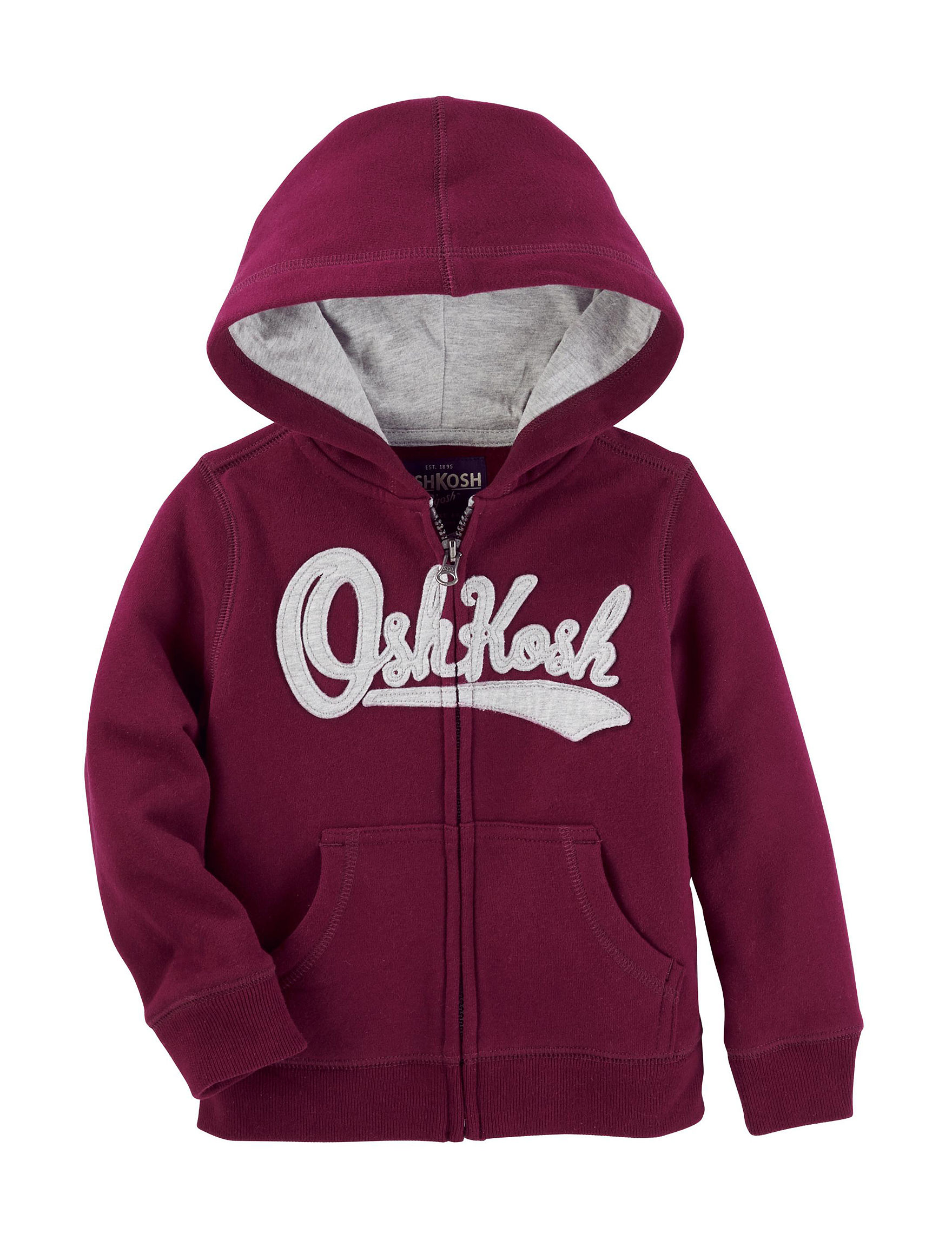 Oshkosh B'Gosh Red Fleece & Soft Shell Jackets