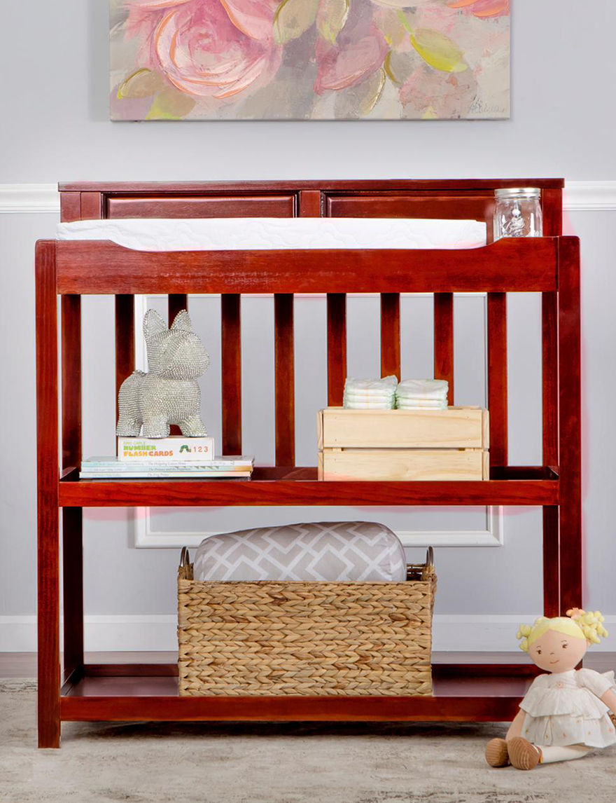 Dream On Me Cherry Beds & Headboards Changing Tables Bedroom Furniture