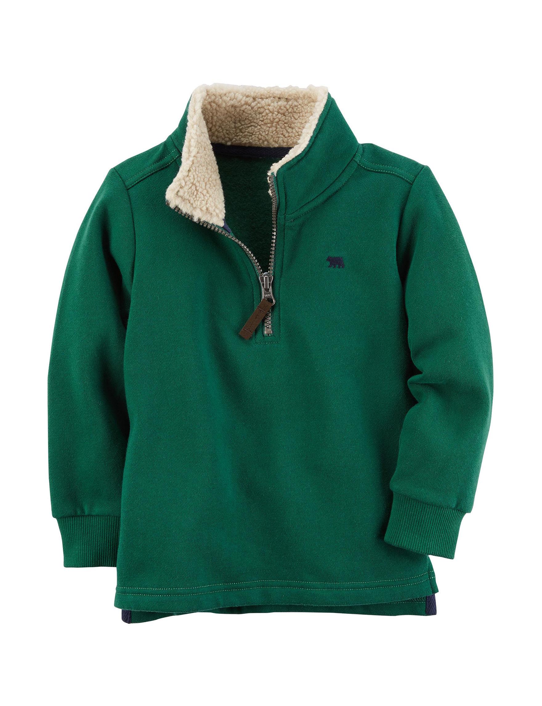 Carter's Green Casual Button Down Shirts