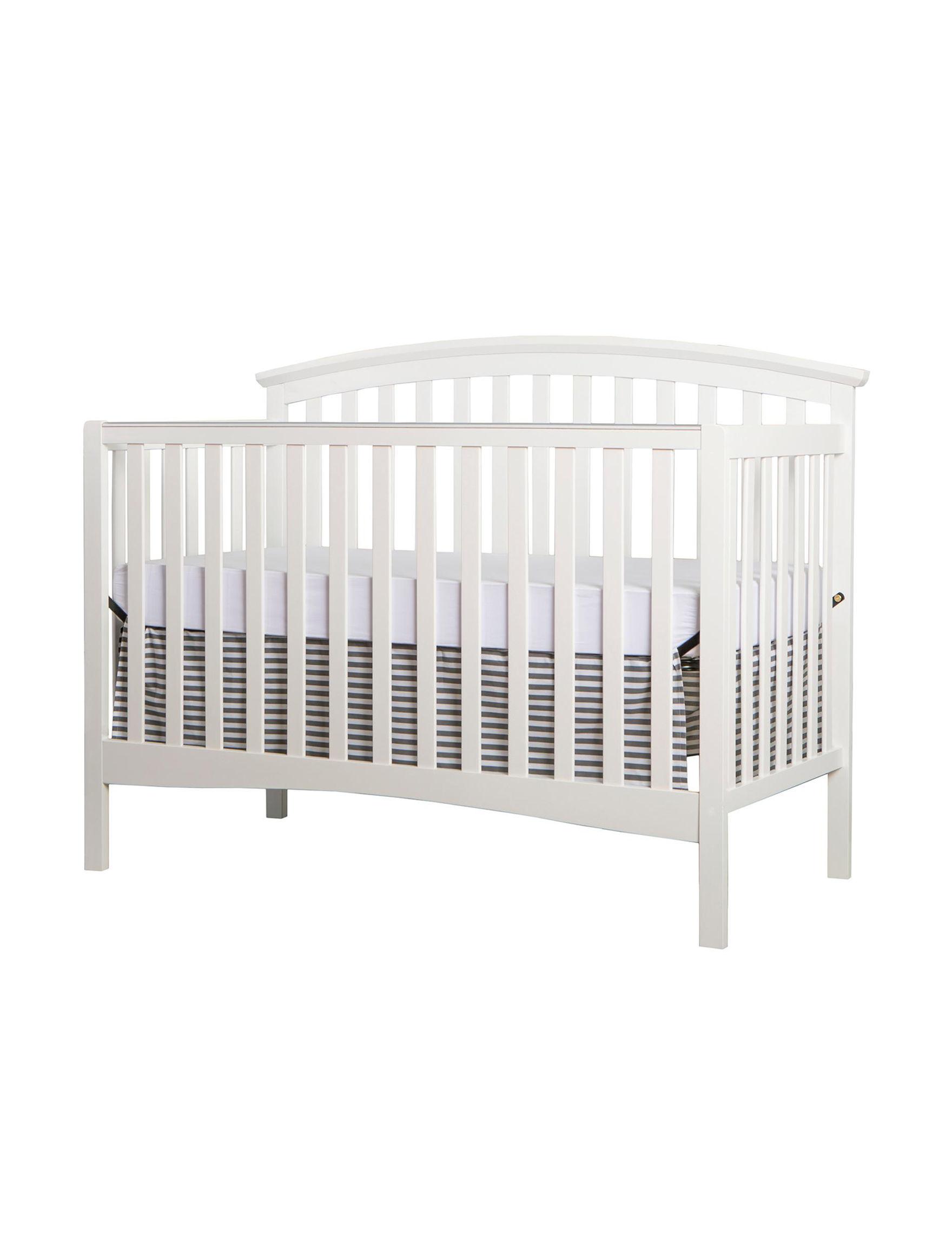 Dream On Me White Cribs Bedroom Furniture