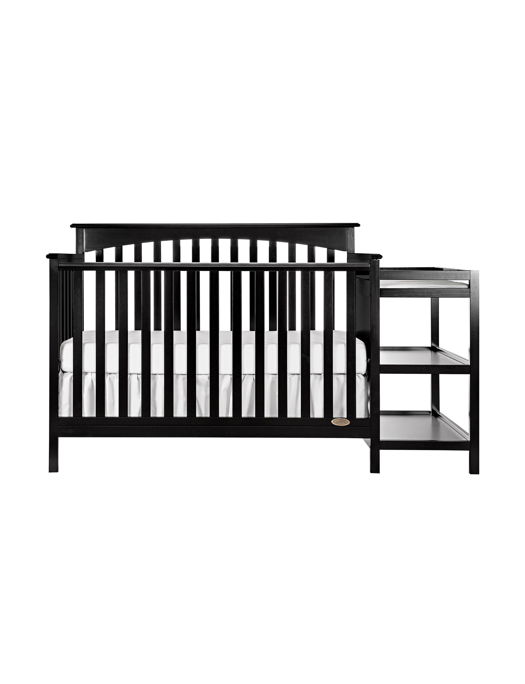 Dream On Me Black Changing Tables Cribs Bedroom Furniture
