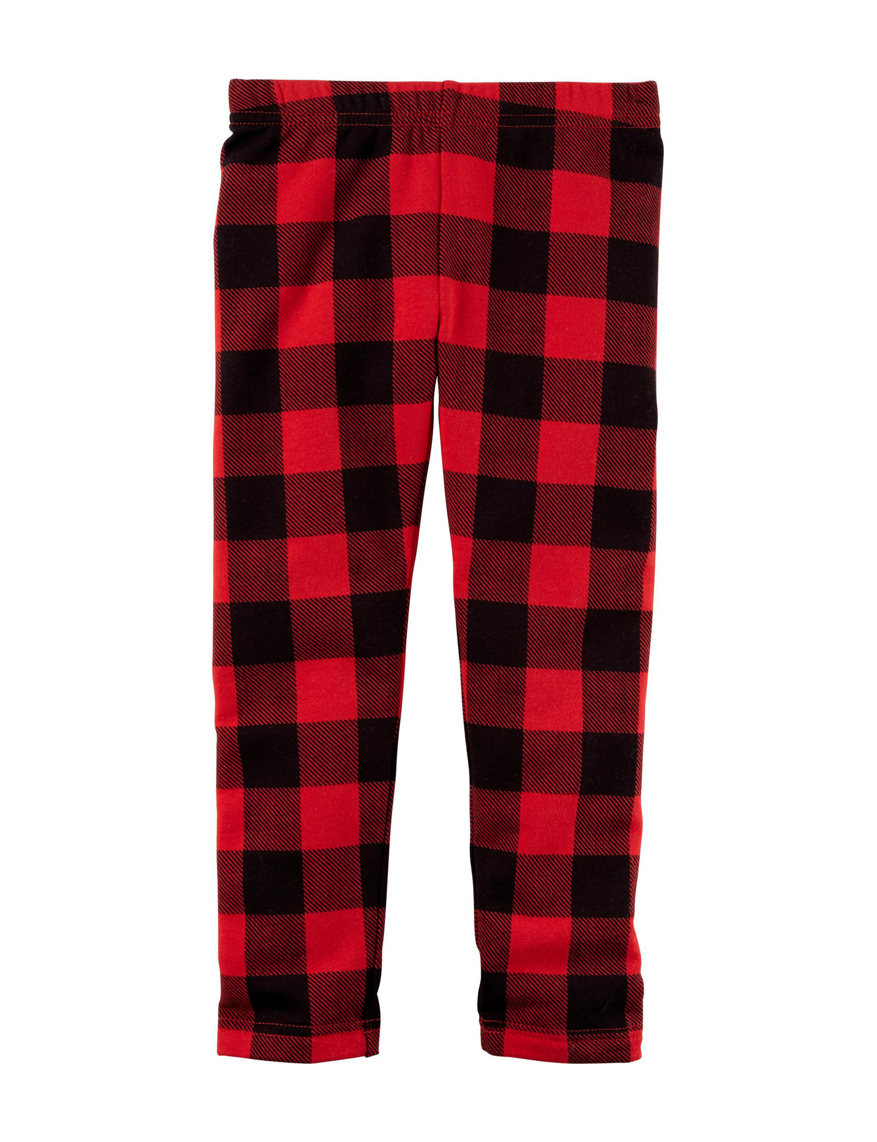Carter's Plaid Leggings