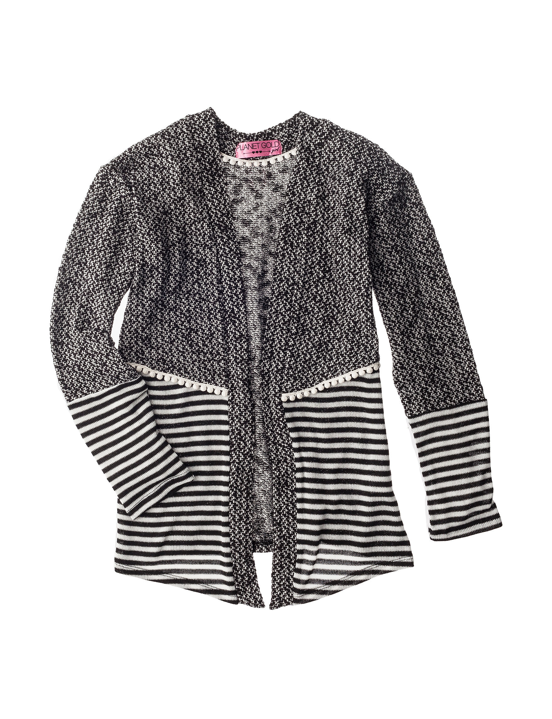 Planet Gold Lace Trim Cardigan - Girls 7-16 | Stage Stores