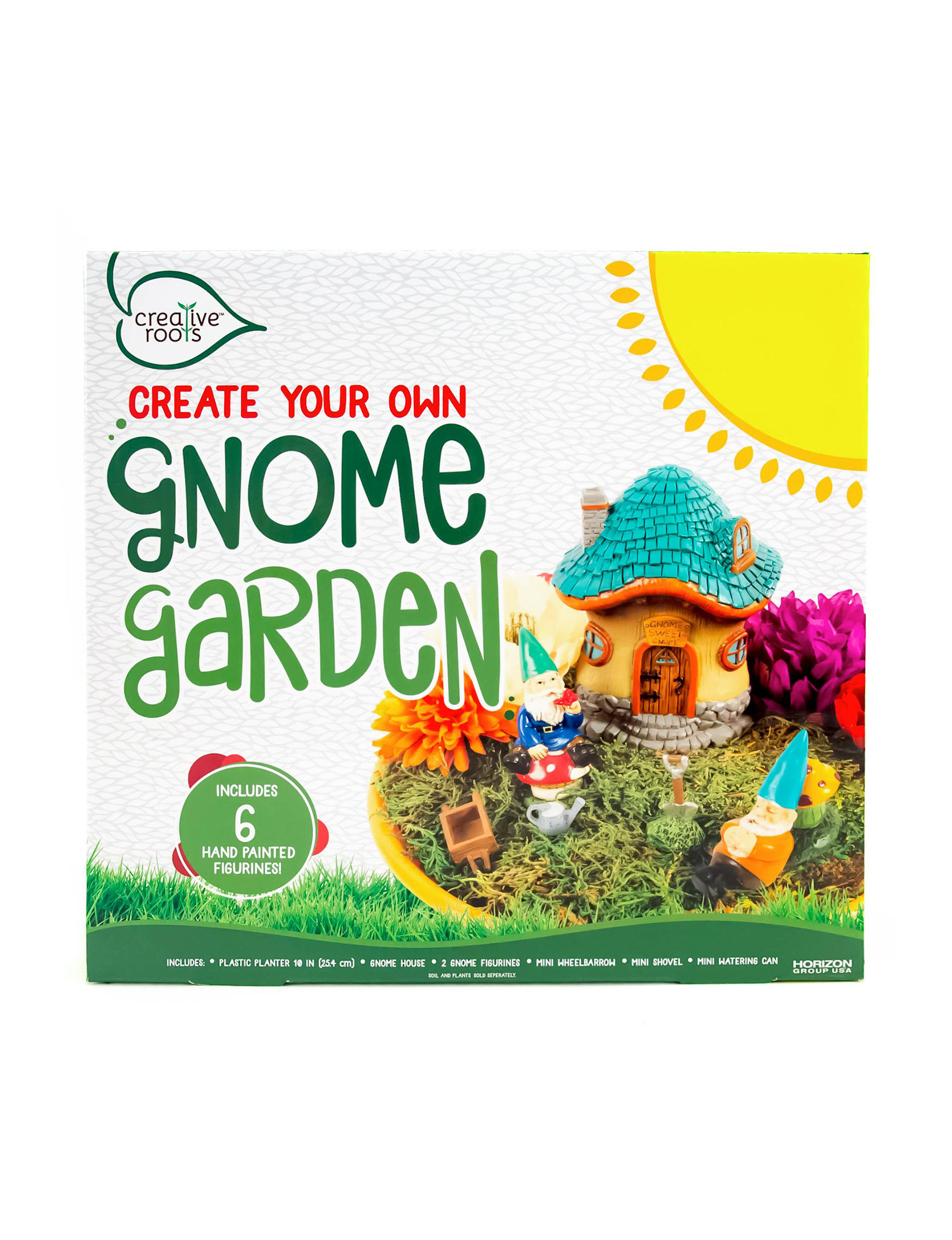 Creative Roots Create Your Own Gnome Garden
