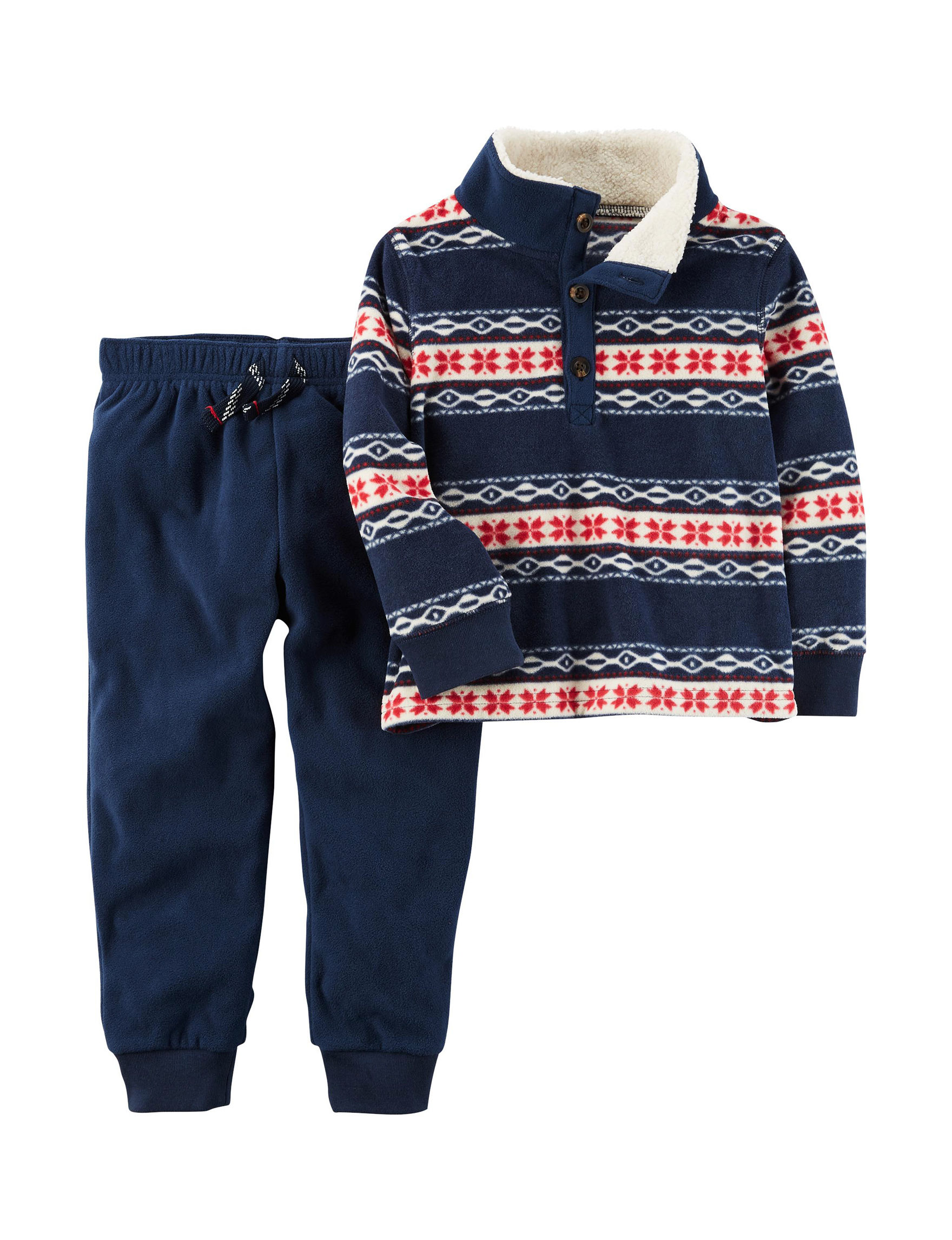 Carter's Sherpa Fair Isle Sweater & Pants Set - Toddler Boys ...