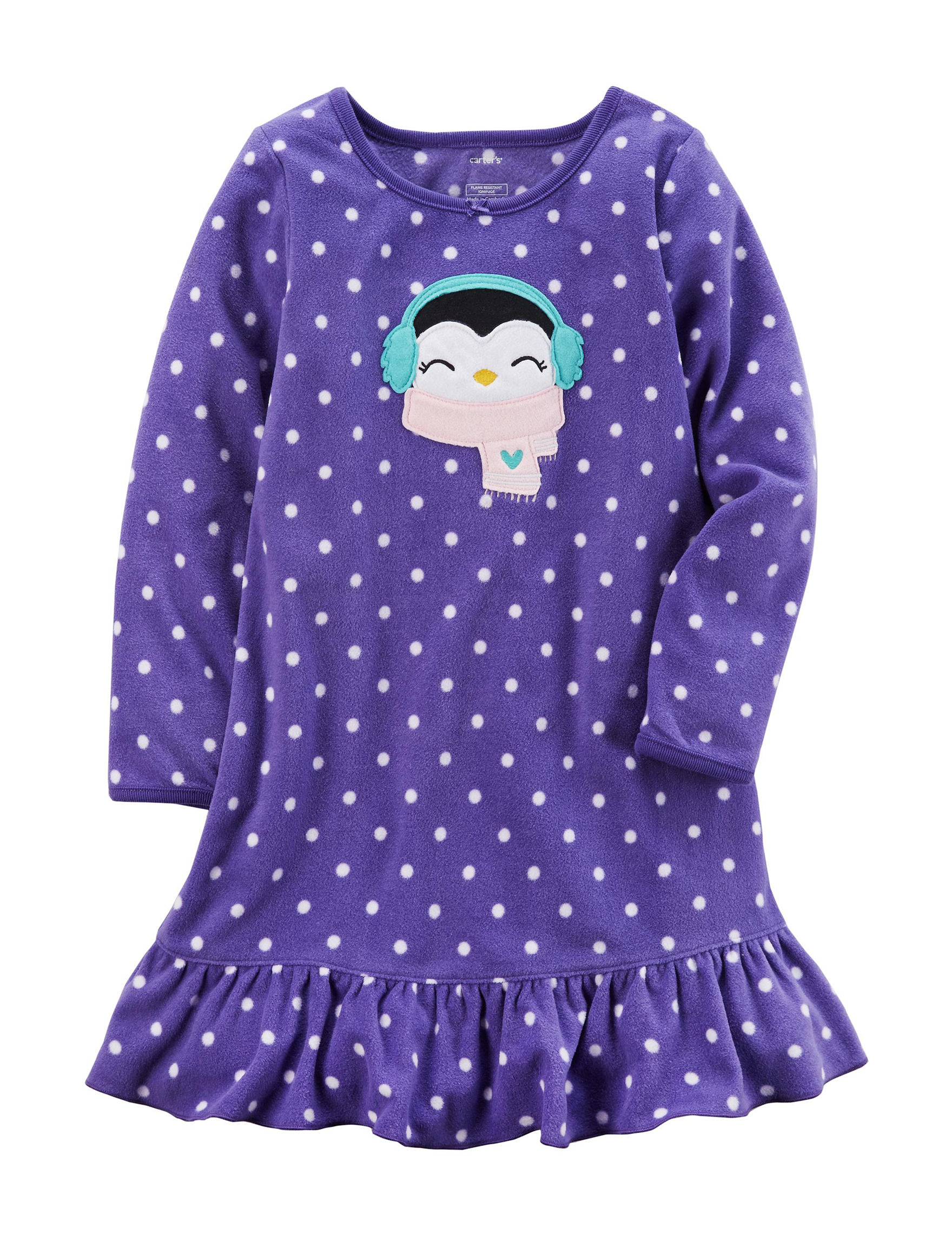 Carter's Purple Nightgowns & Sleep Shirts
