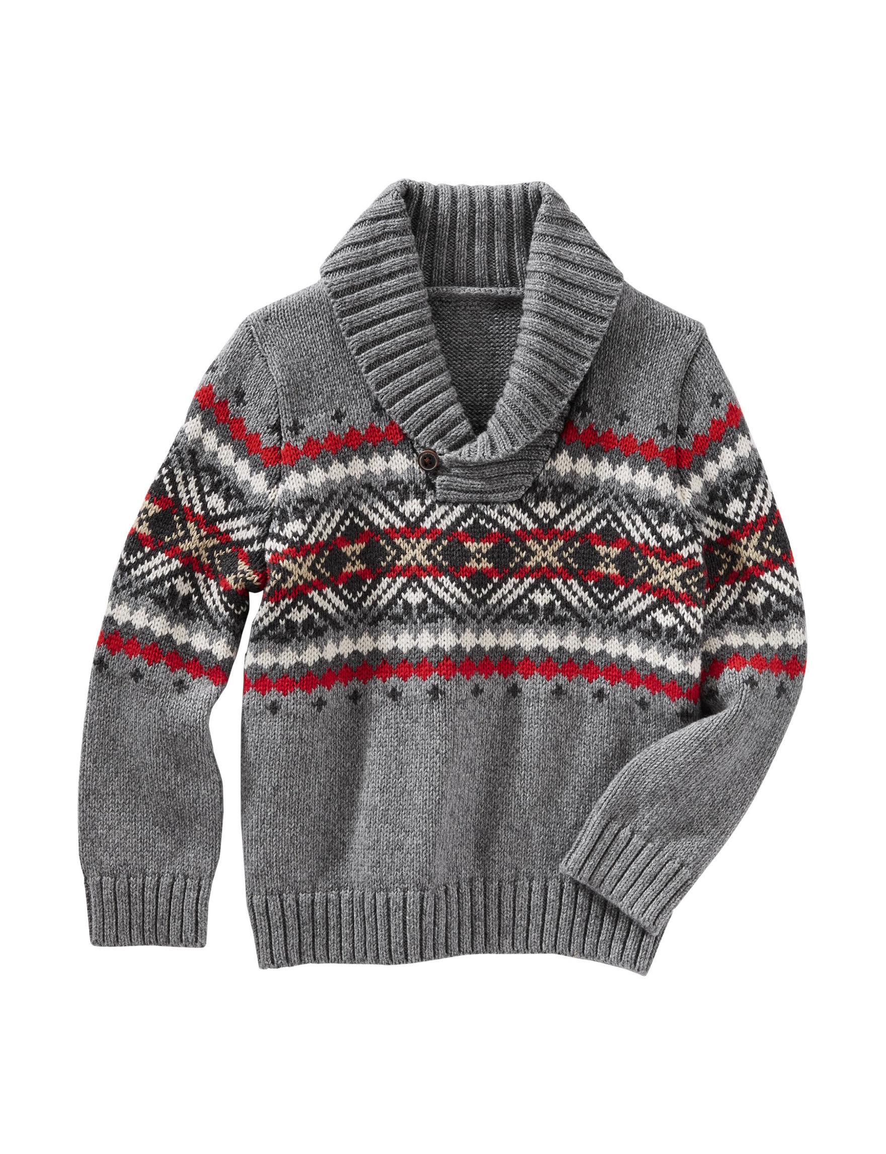 Oshkosh B'gosh Fair Isle Sweater - Toddler Boys | Stage Stores