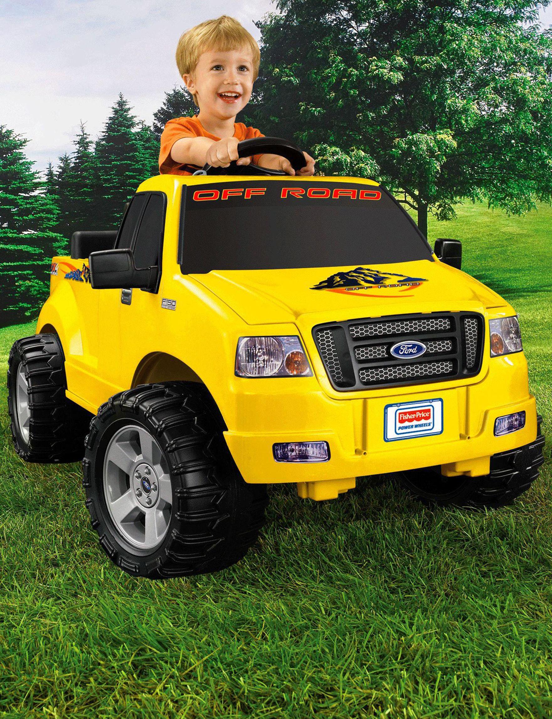Power Wheels Yellow