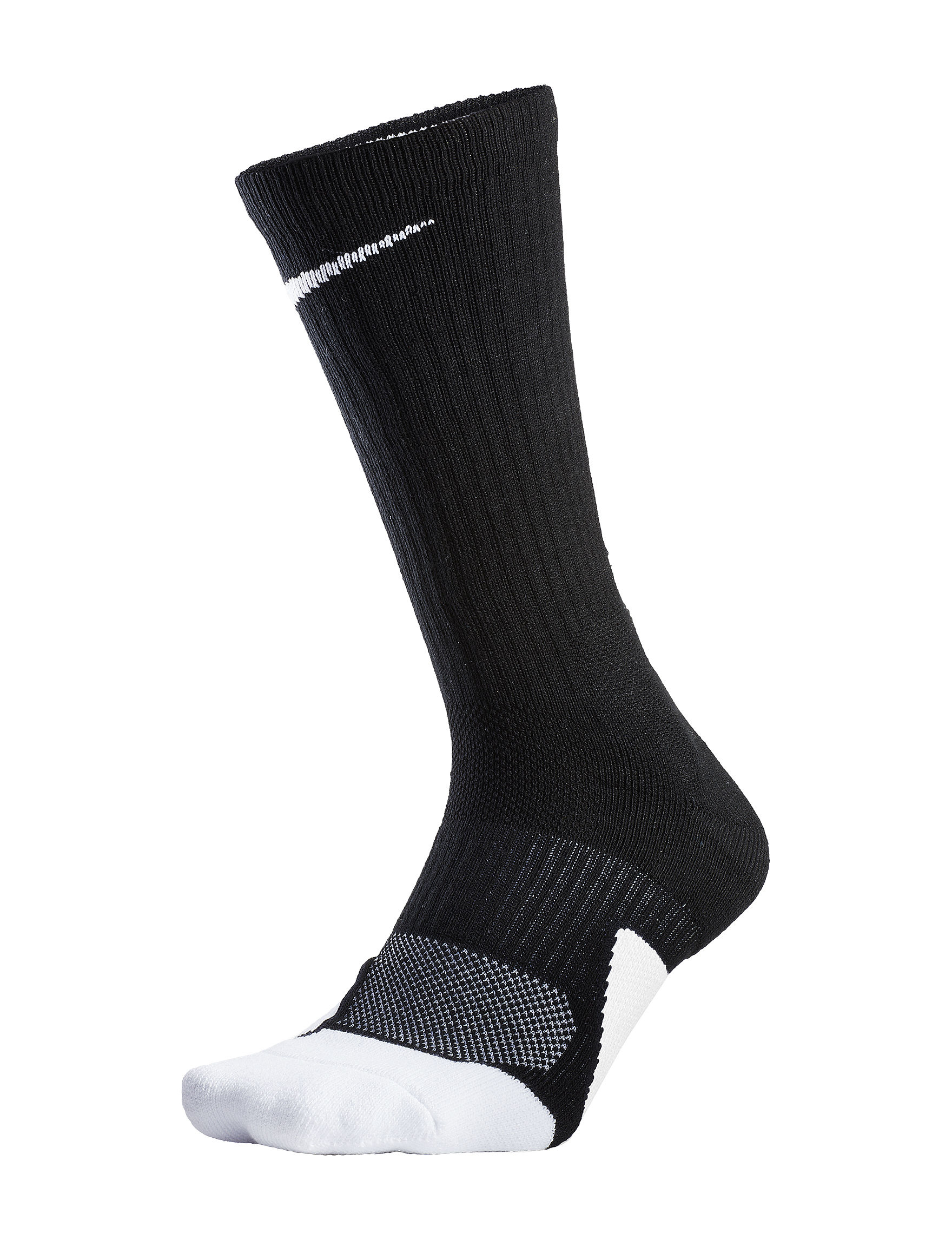 Nike Black /  White Socks