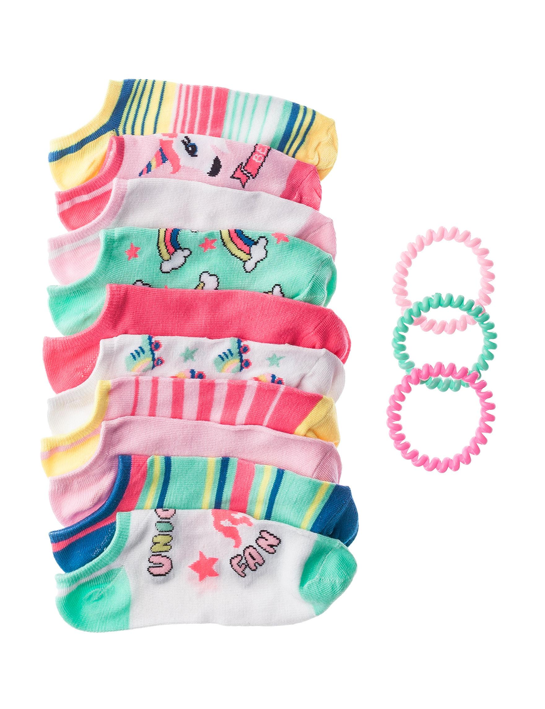 Charlotte & Co. Pink Socks