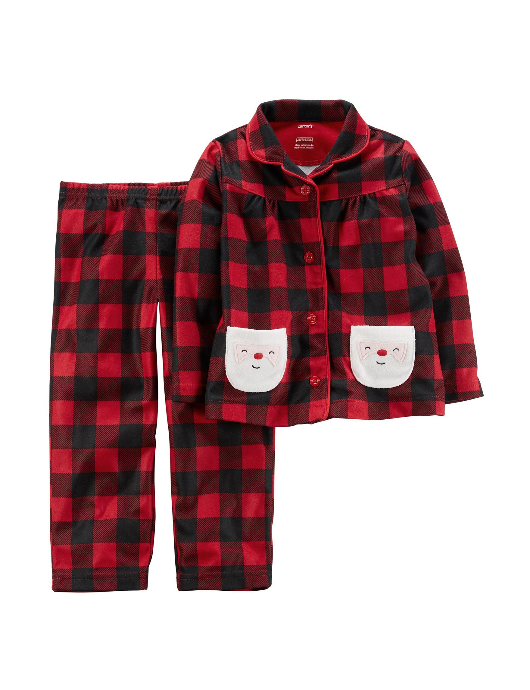 Carter's Red Pajama Sets