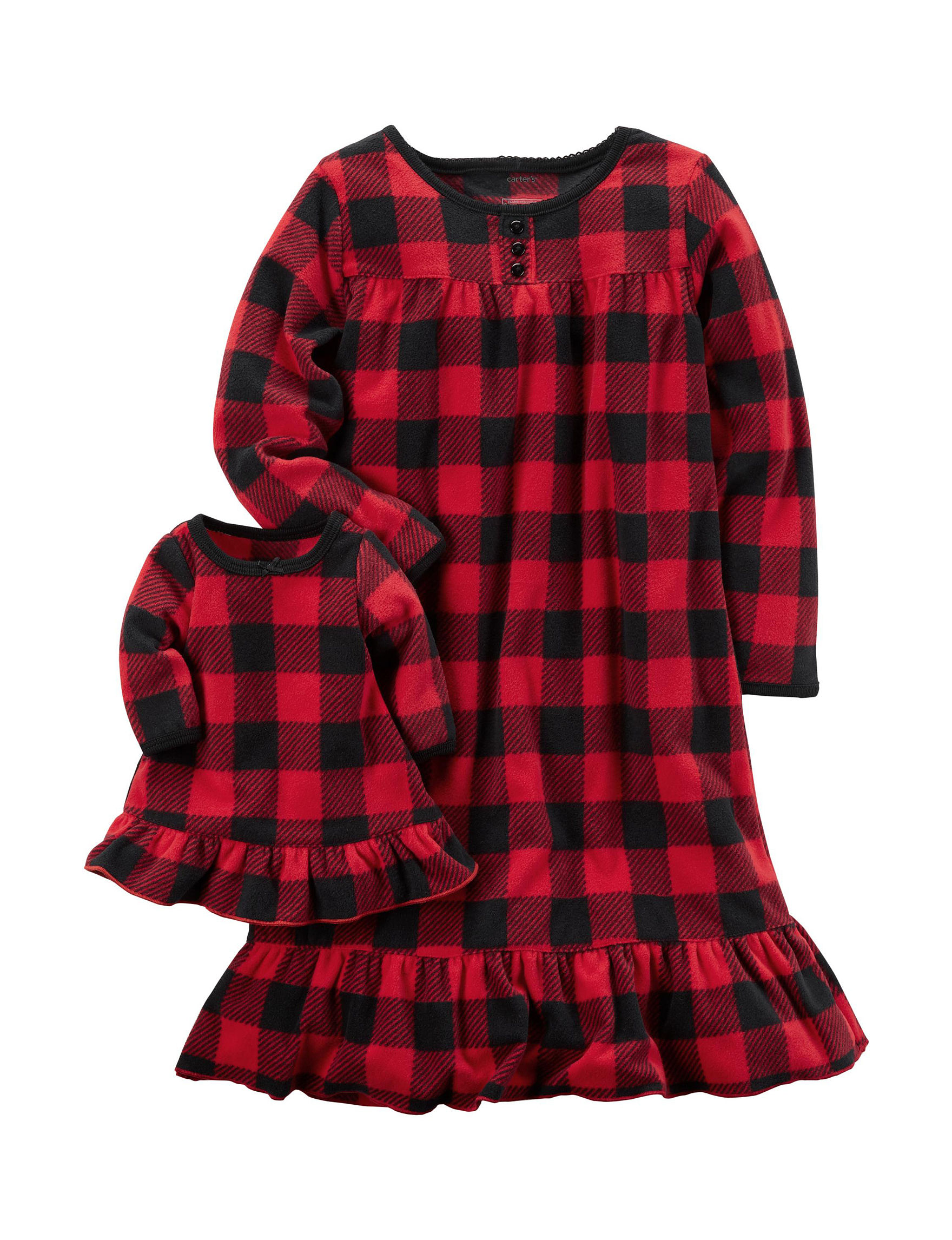 Carter's Red Nightgowns & Sleep Shirts