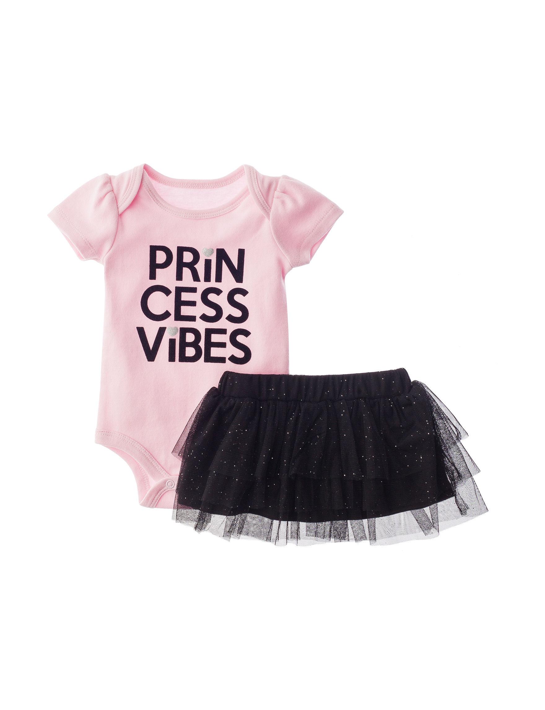 "Baby Starters 2 pc ""Princess"" Bodysuit & Tutu Set Baby 3 12 Mos"