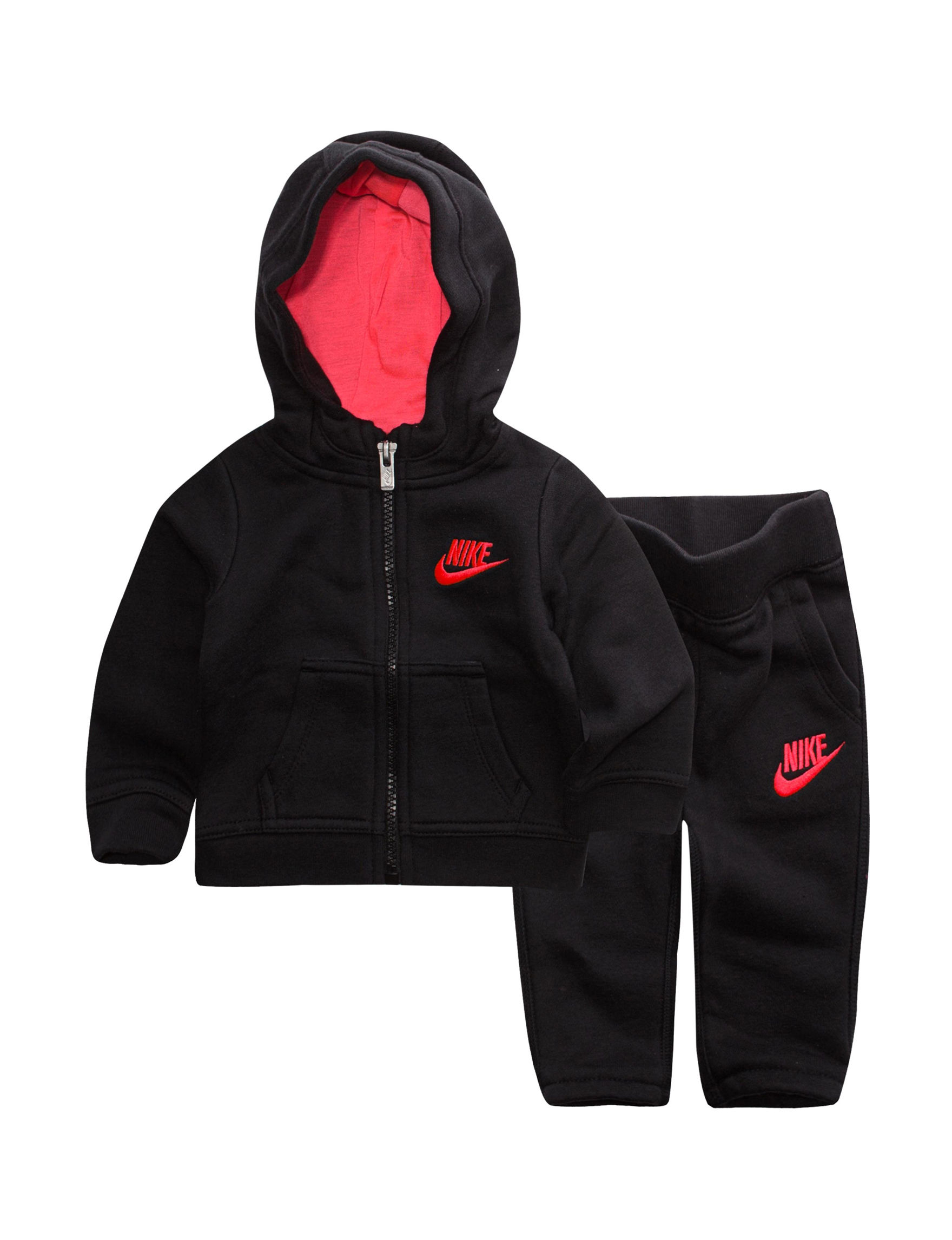 Nike Black Fleece & Soft Shell Jackets