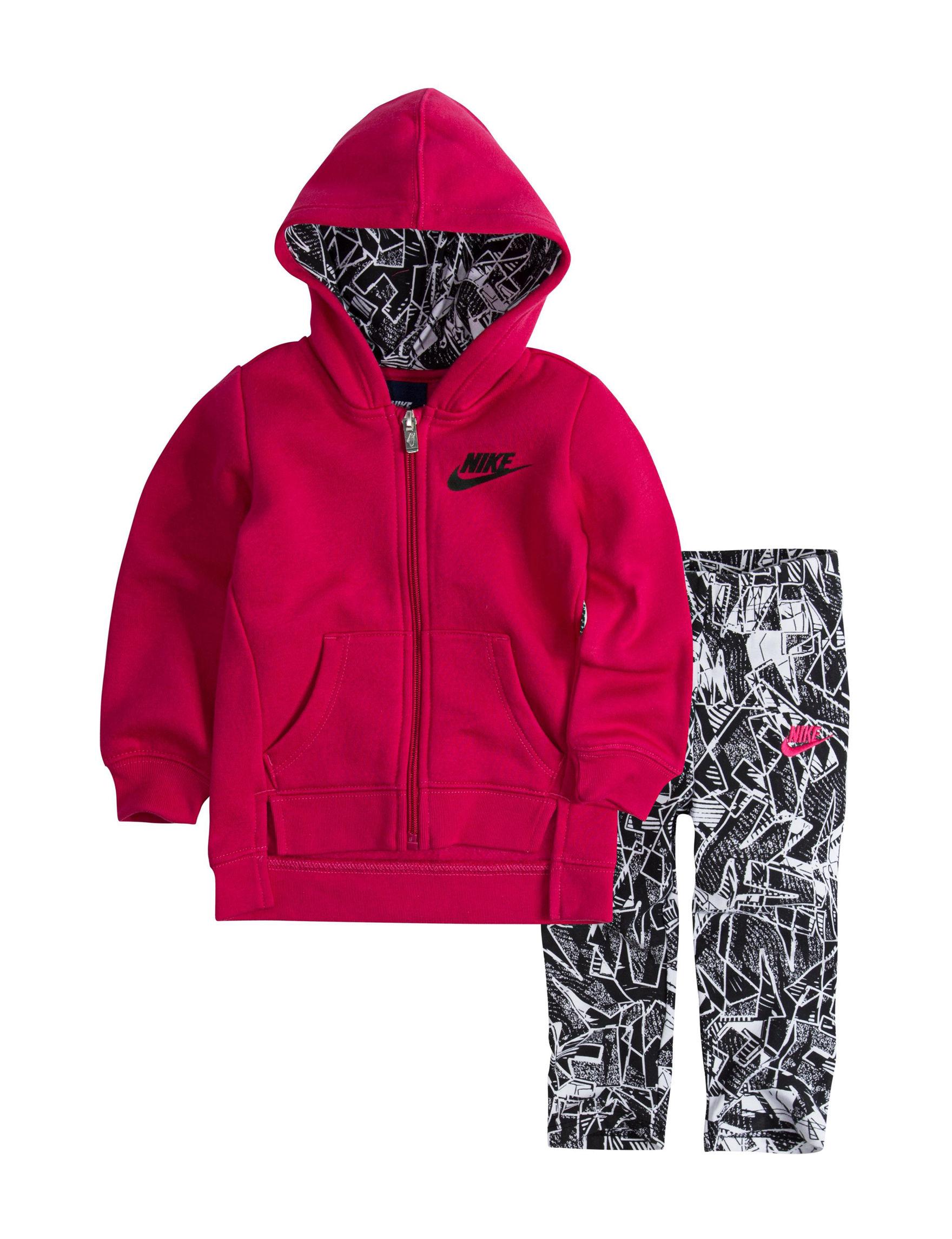 Nike Red / Black Fleece & Soft Shell Jackets