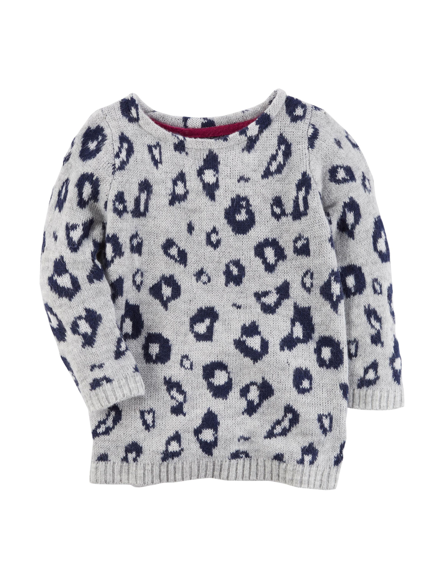 Carter's Leopard Print Sweater - Girls 4-8 | Stage Stores