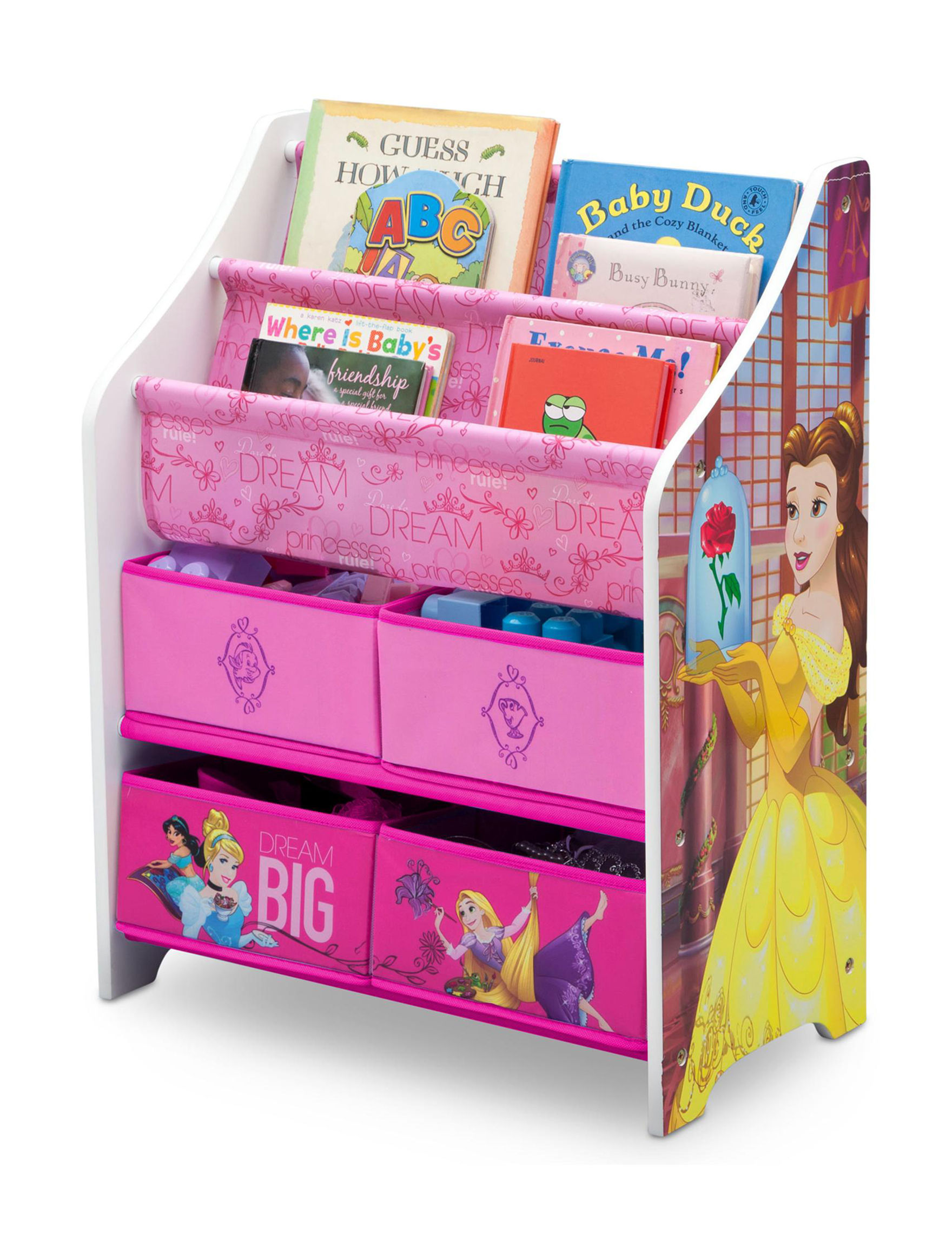 Disney Pink Book Displays Toy Chests