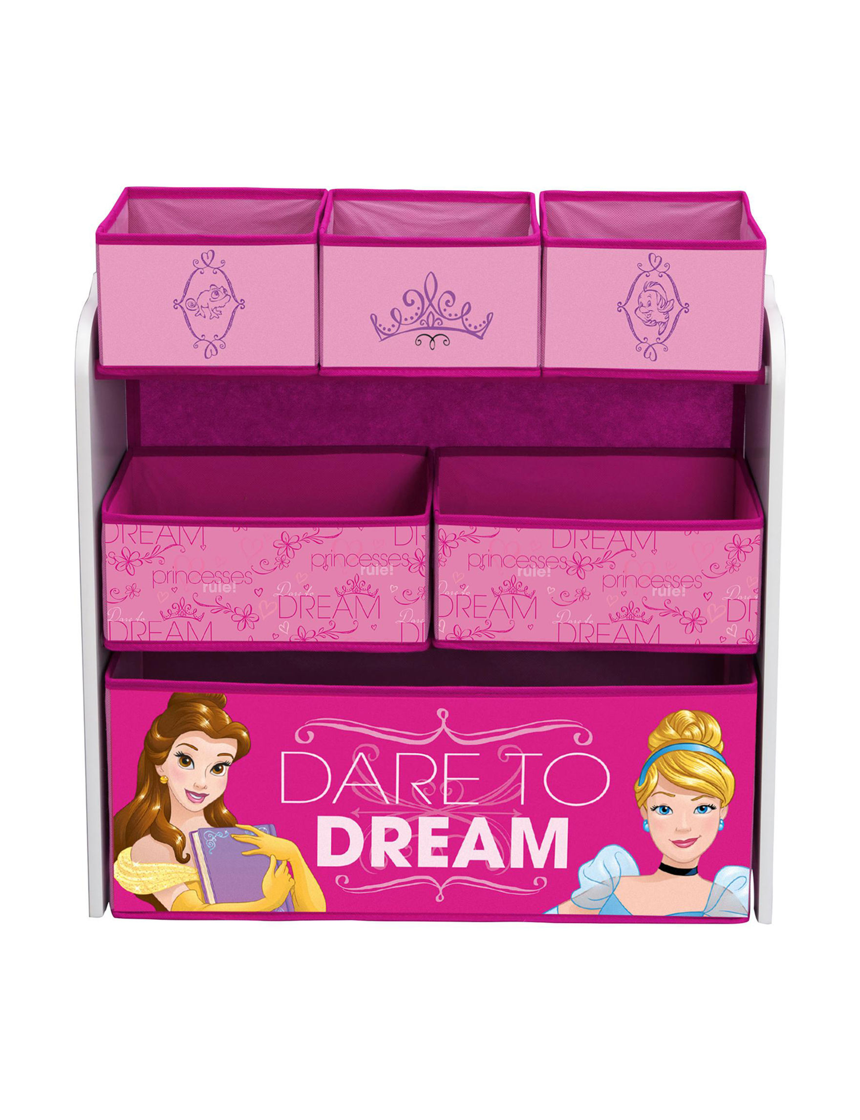 Disney Pink Toy Chests
