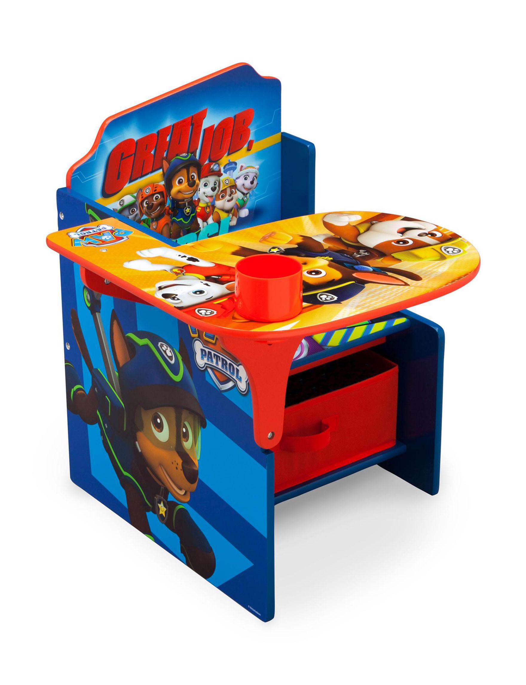 Nickelodeon Blue Desks & Vanities Table & Chair Sets