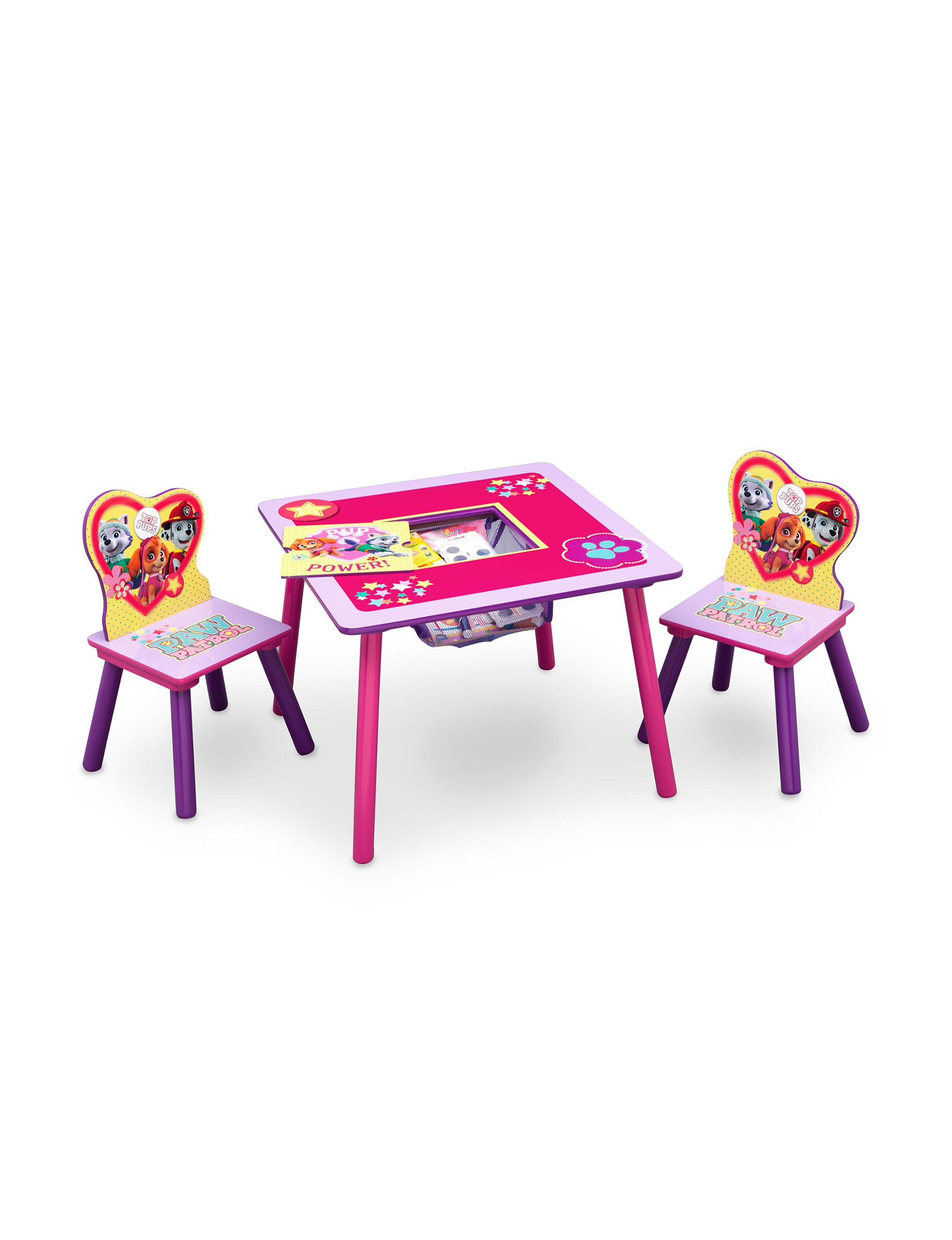 Nickelodeon Pink Table & Chair Sets
